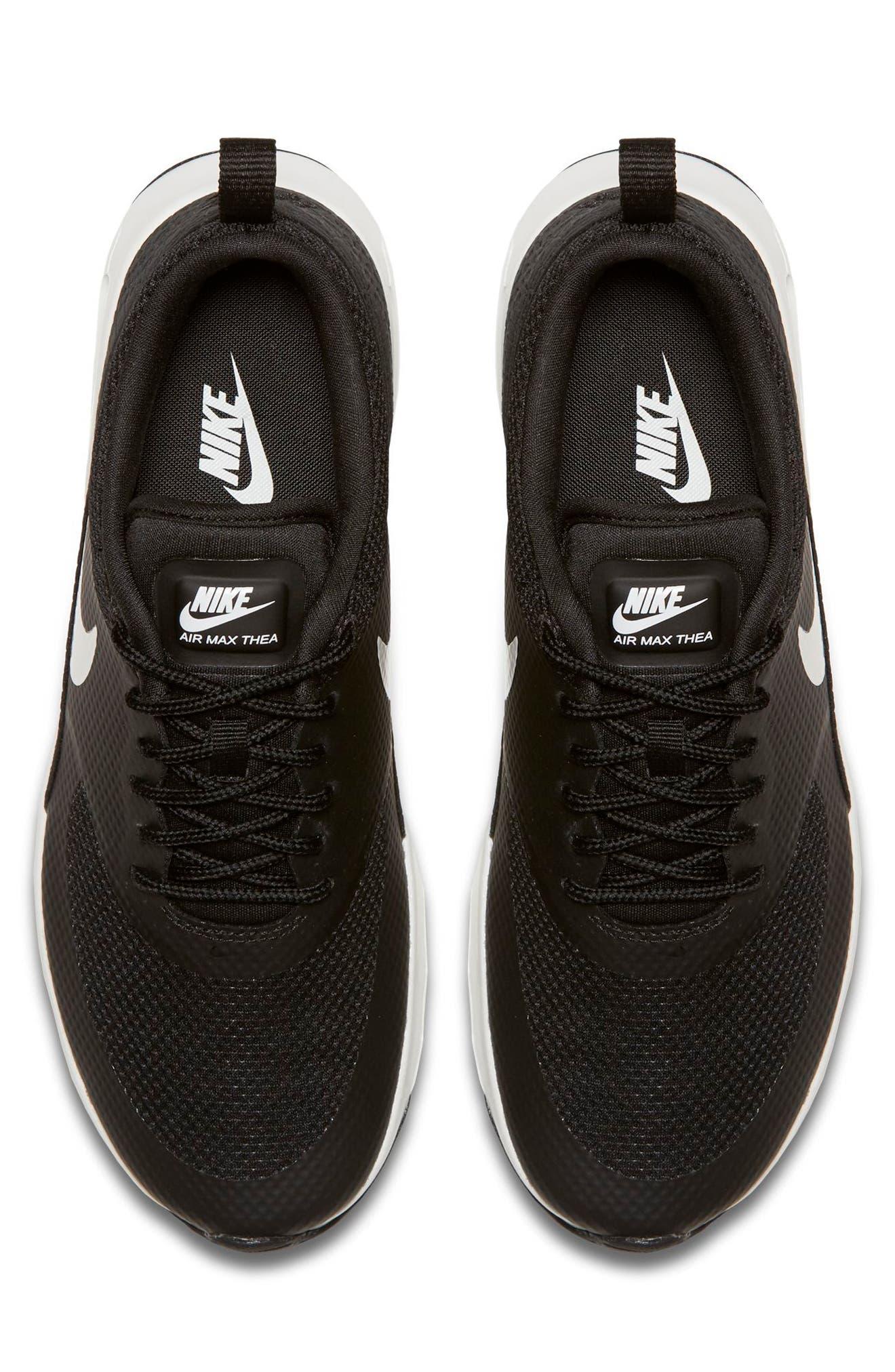 Air Max Thea Sneaker,                             Alternate thumbnail 4, color,                             020