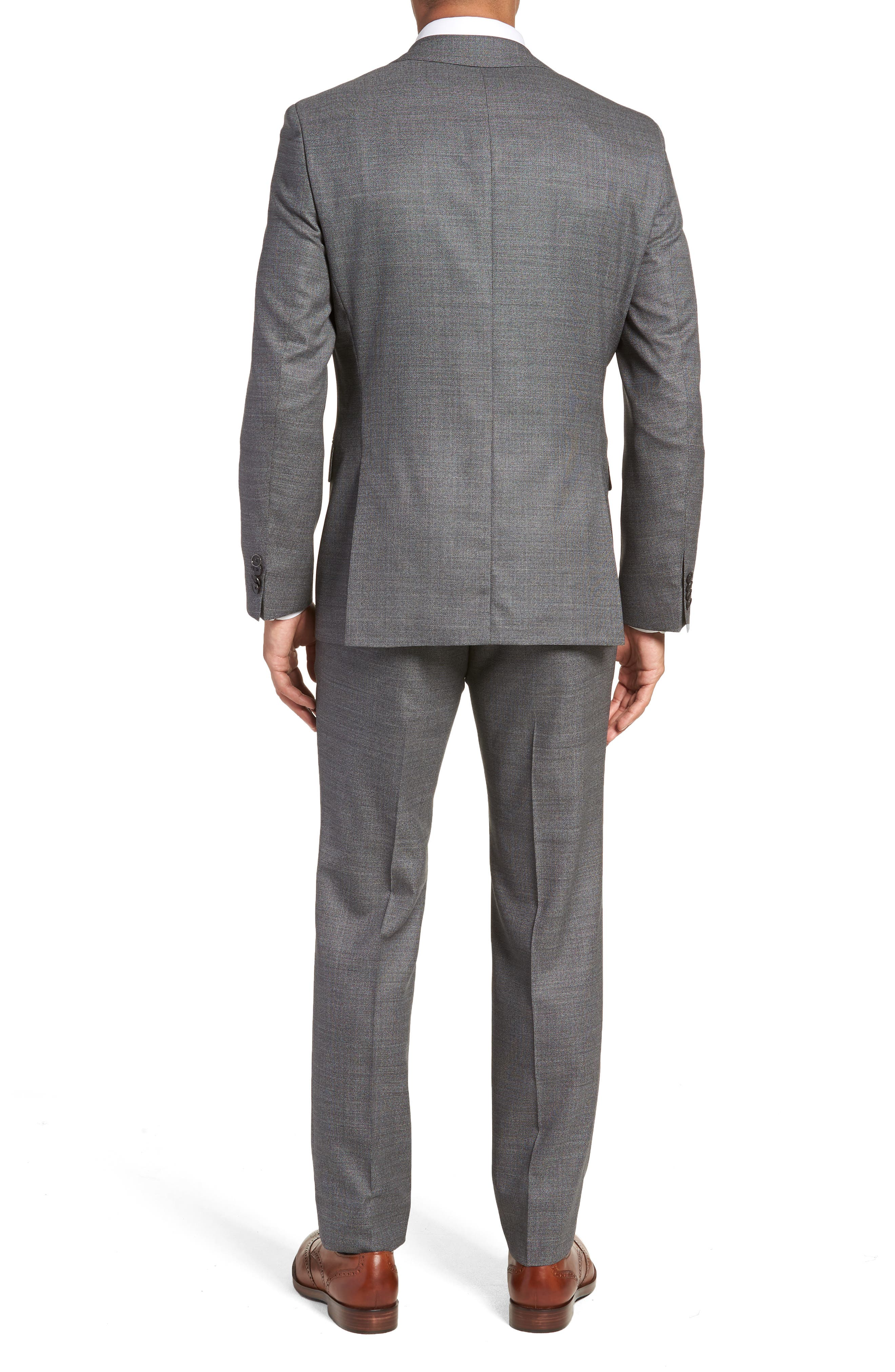 Johnstons/Lenon Classic Fit Solid Wool Suit,                             Alternate thumbnail 2, color,                             020