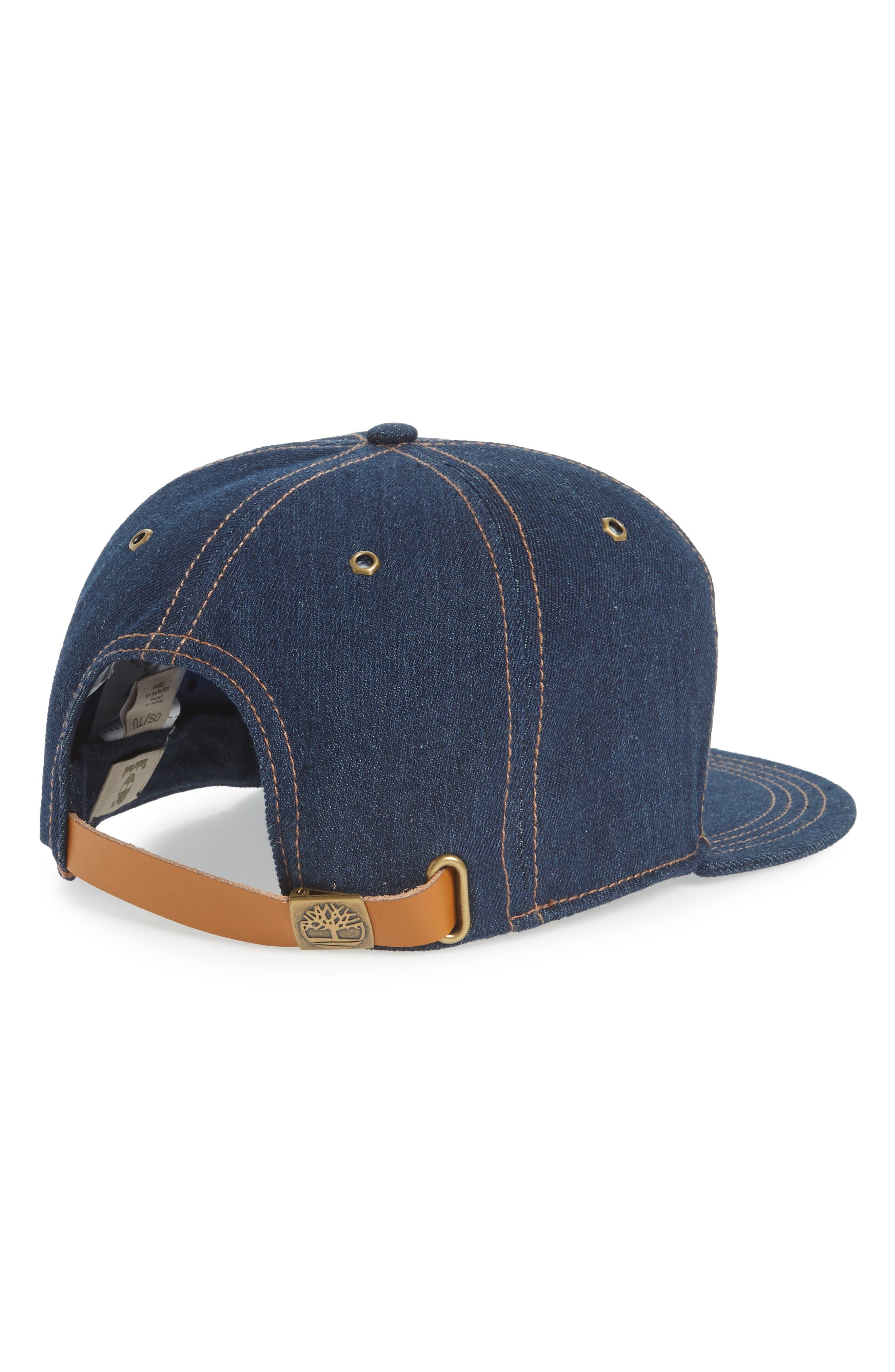 Plum Island Baseball Cap,                             Alternate thumbnail 2, color,                             DARK DENIM