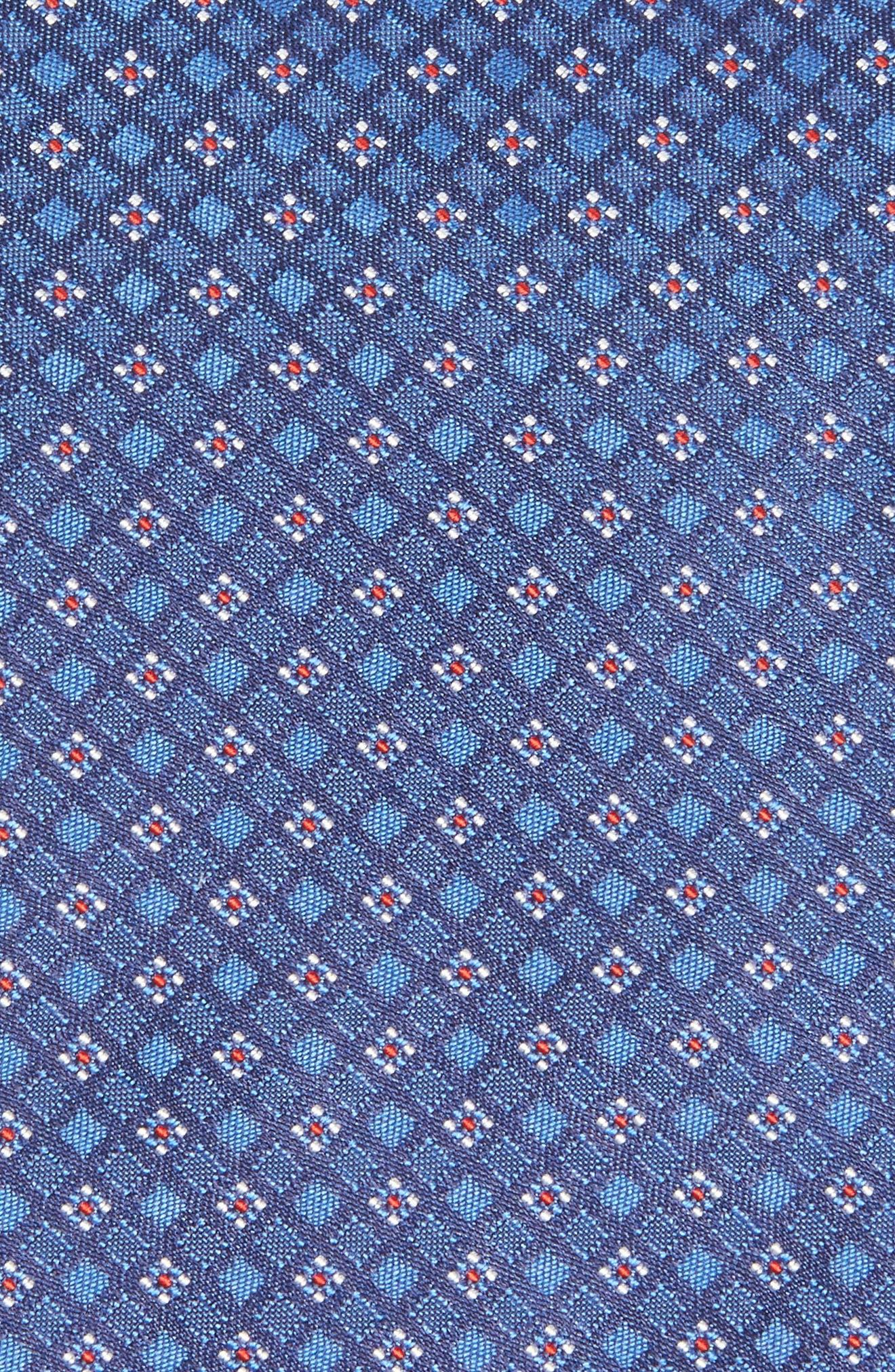 Geometric Silk Tie,                             Alternate thumbnail 2, color,                             430