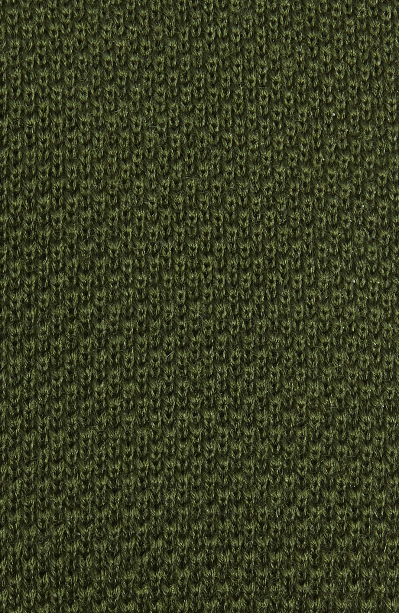 Solid Knit Wool Tie,                             Alternate thumbnail 2, color,                             308