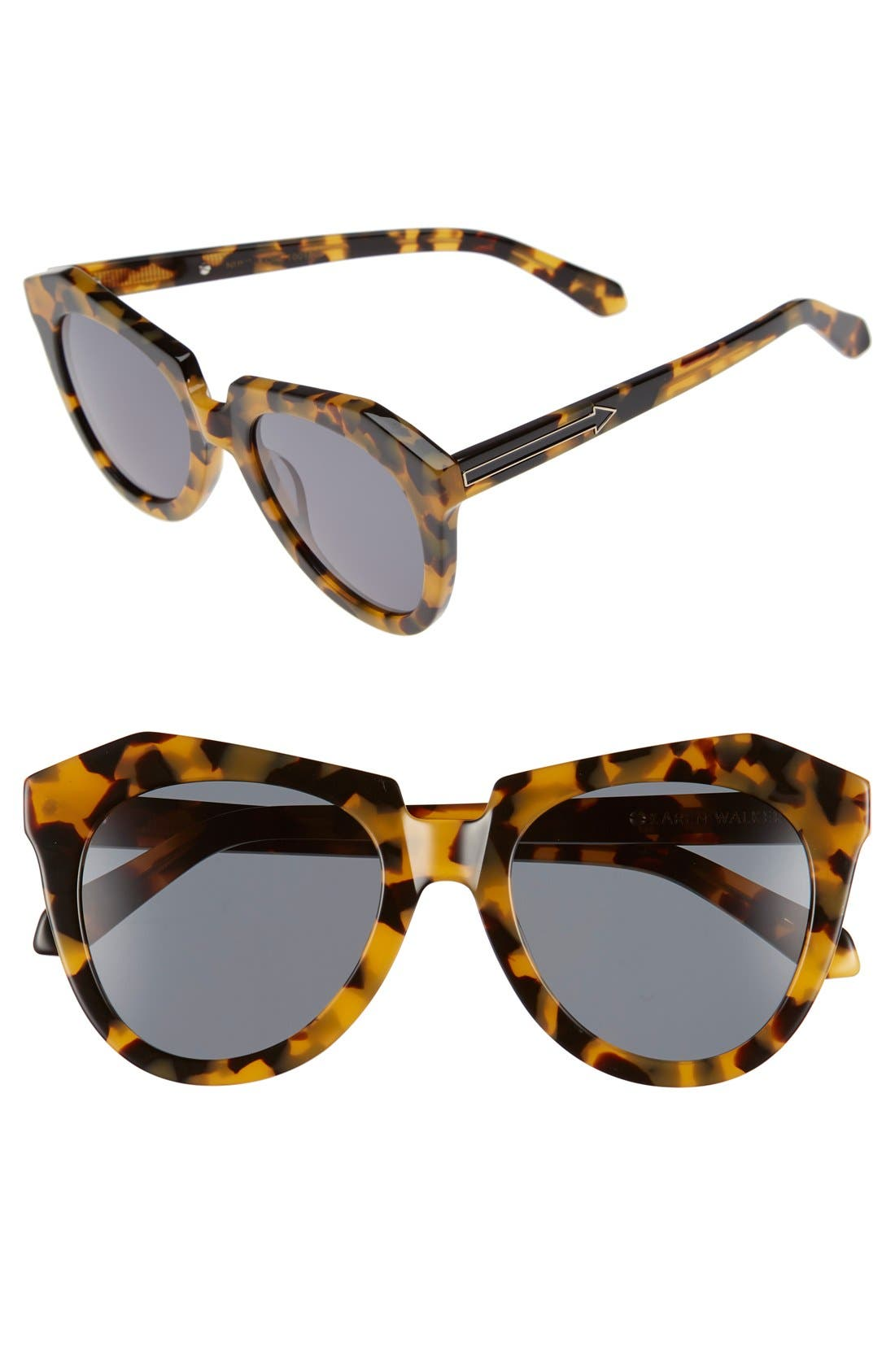 'Number One' 50mm Sunglasses,                             Main thumbnail 2, color,