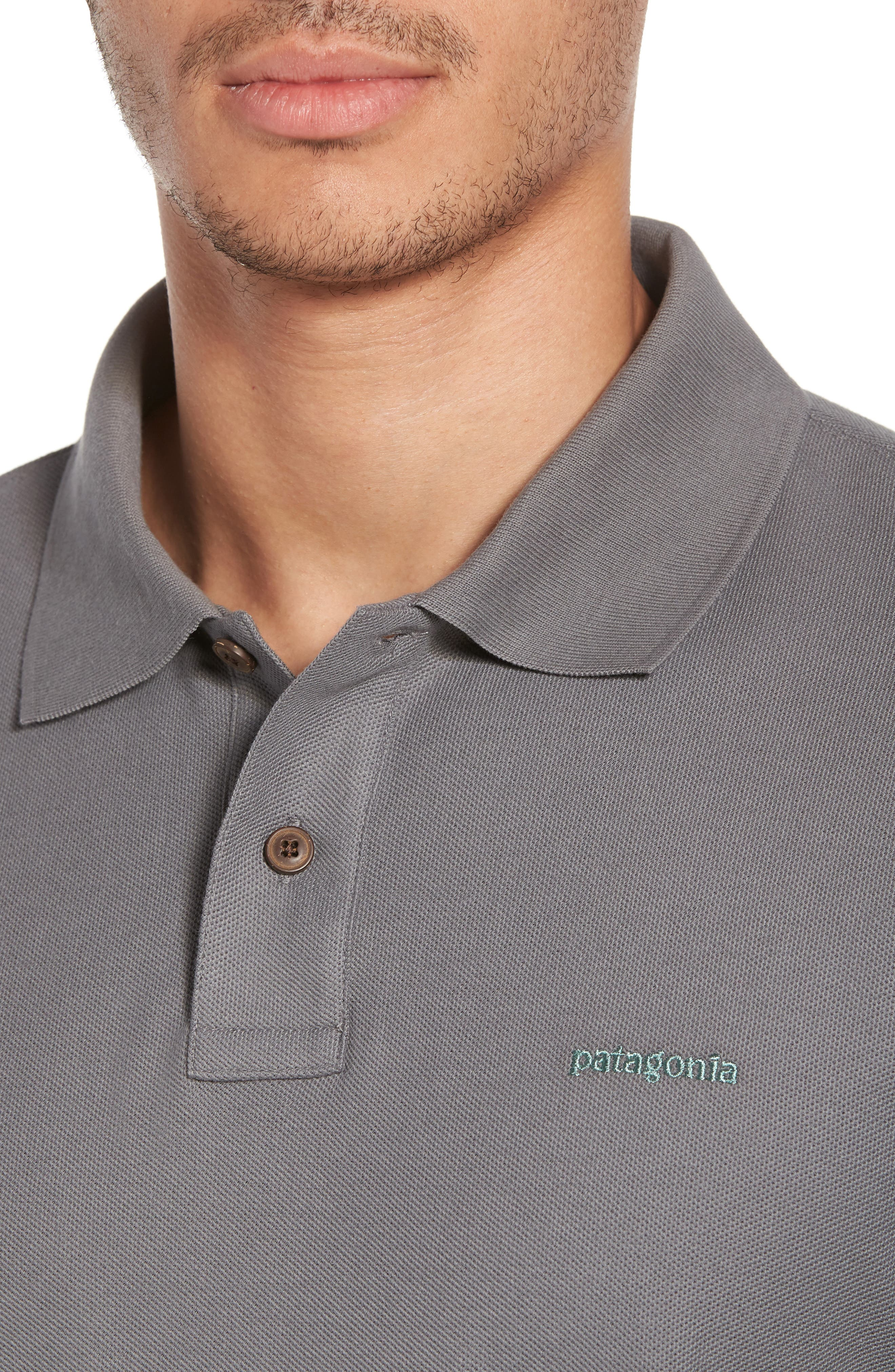 Belwe Relaxed Fit Piqué Polo,                             Alternate thumbnail 4, color,                             021