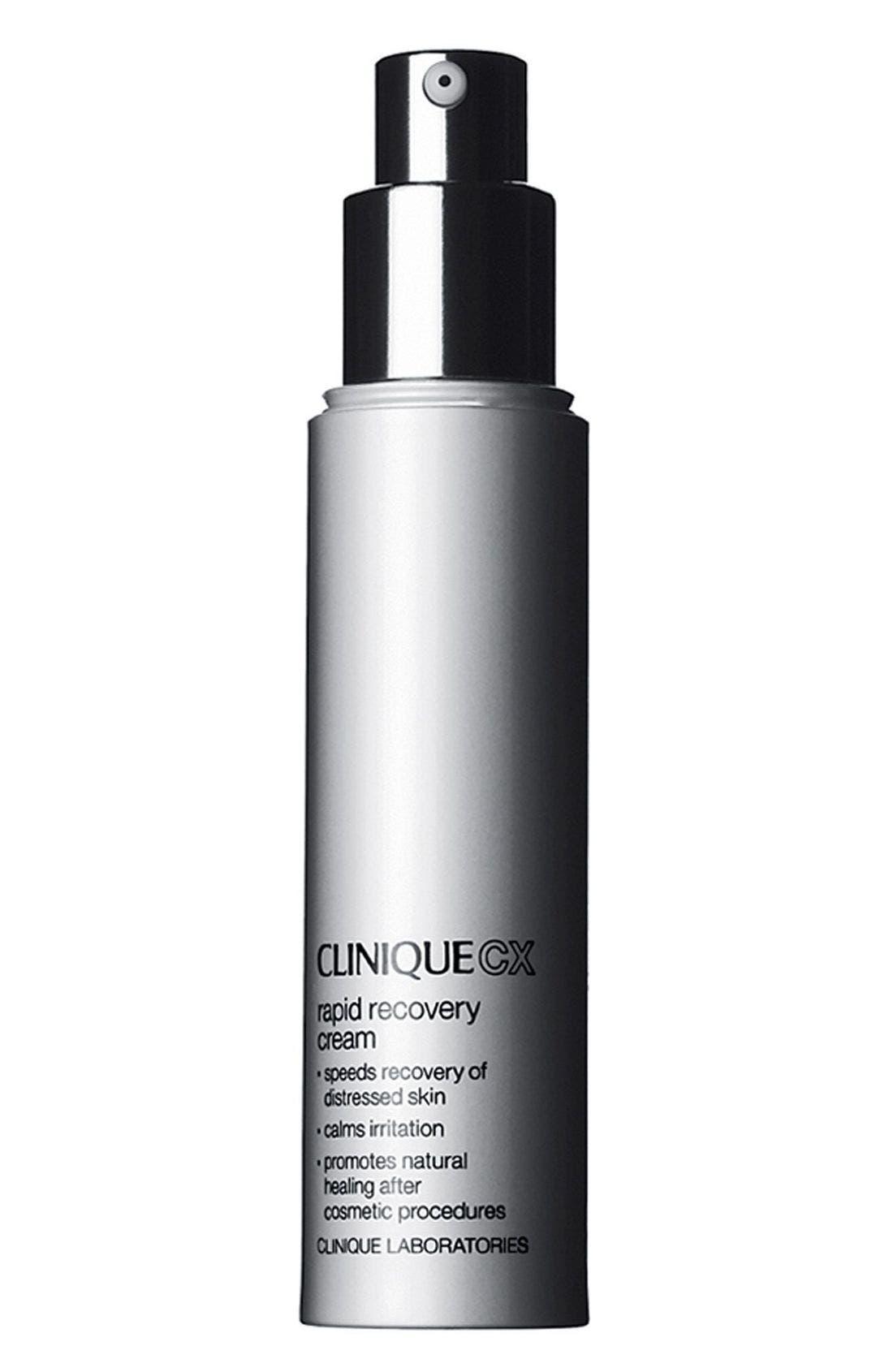 CLINIQUE,                             CX Rapid Recovery Cream,                             Main thumbnail 1, color,                             000