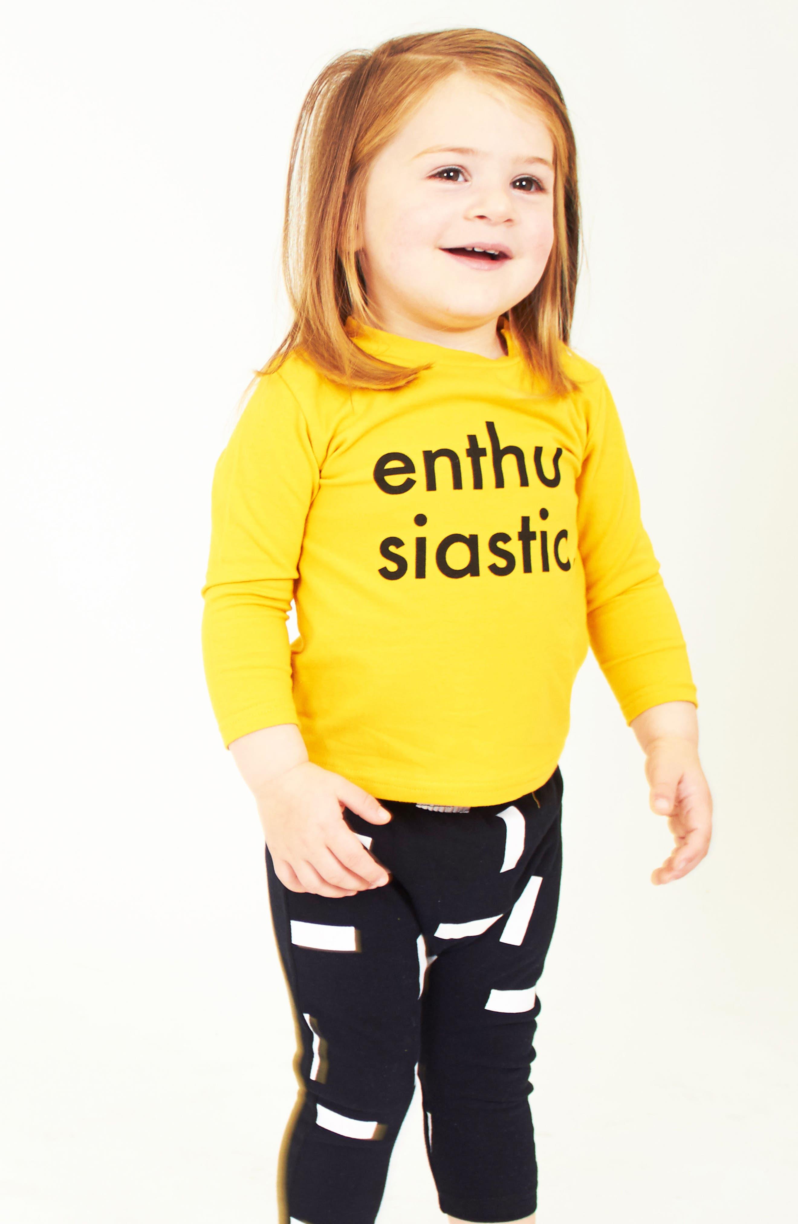 Enthusiastic T-Shirt & Jogger Pants Set,                             Alternate thumbnail 3, color,                             799