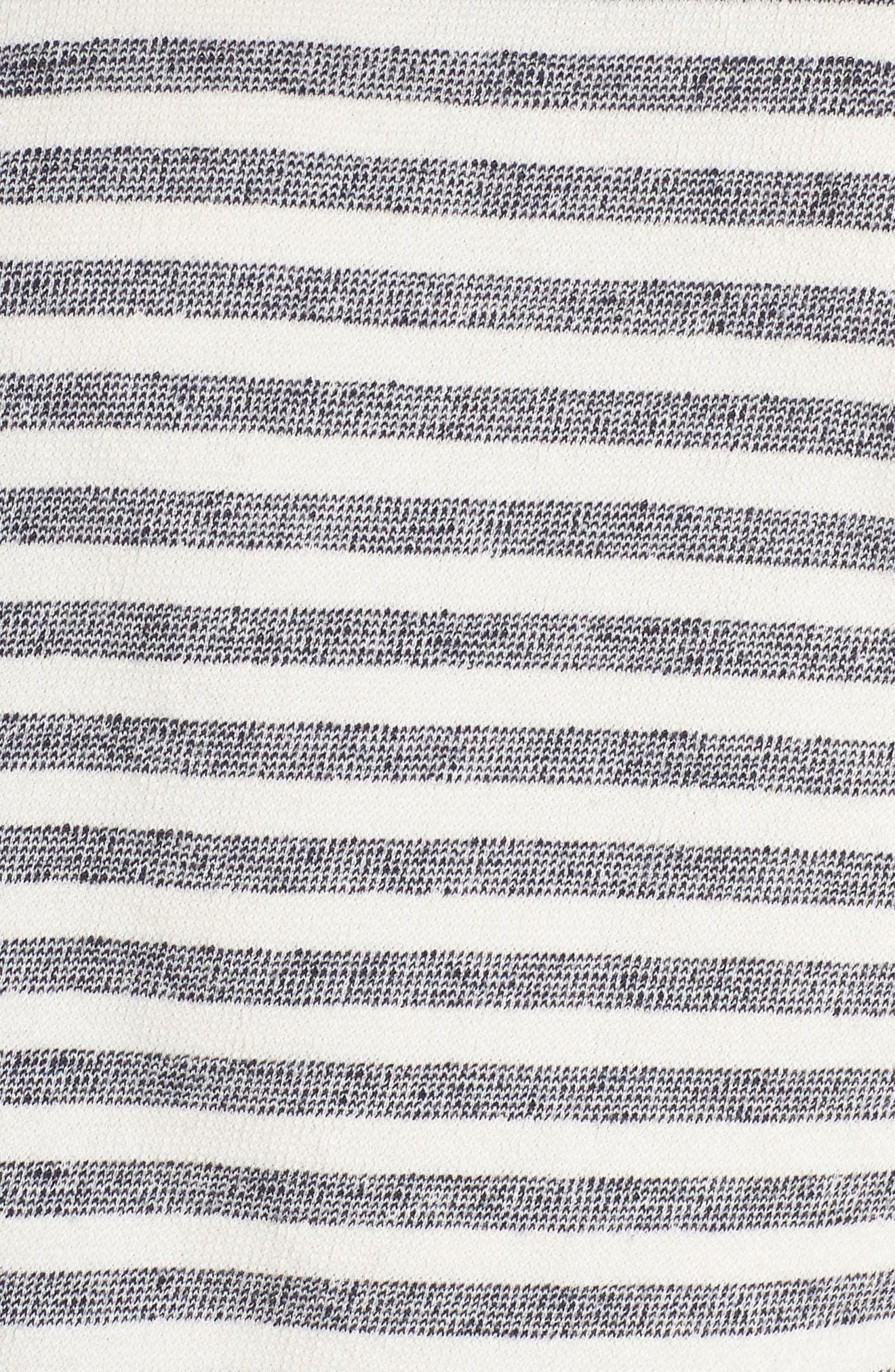 Charlie Stripe Sweatshirt,                             Alternate thumbnail 5, color,                             400