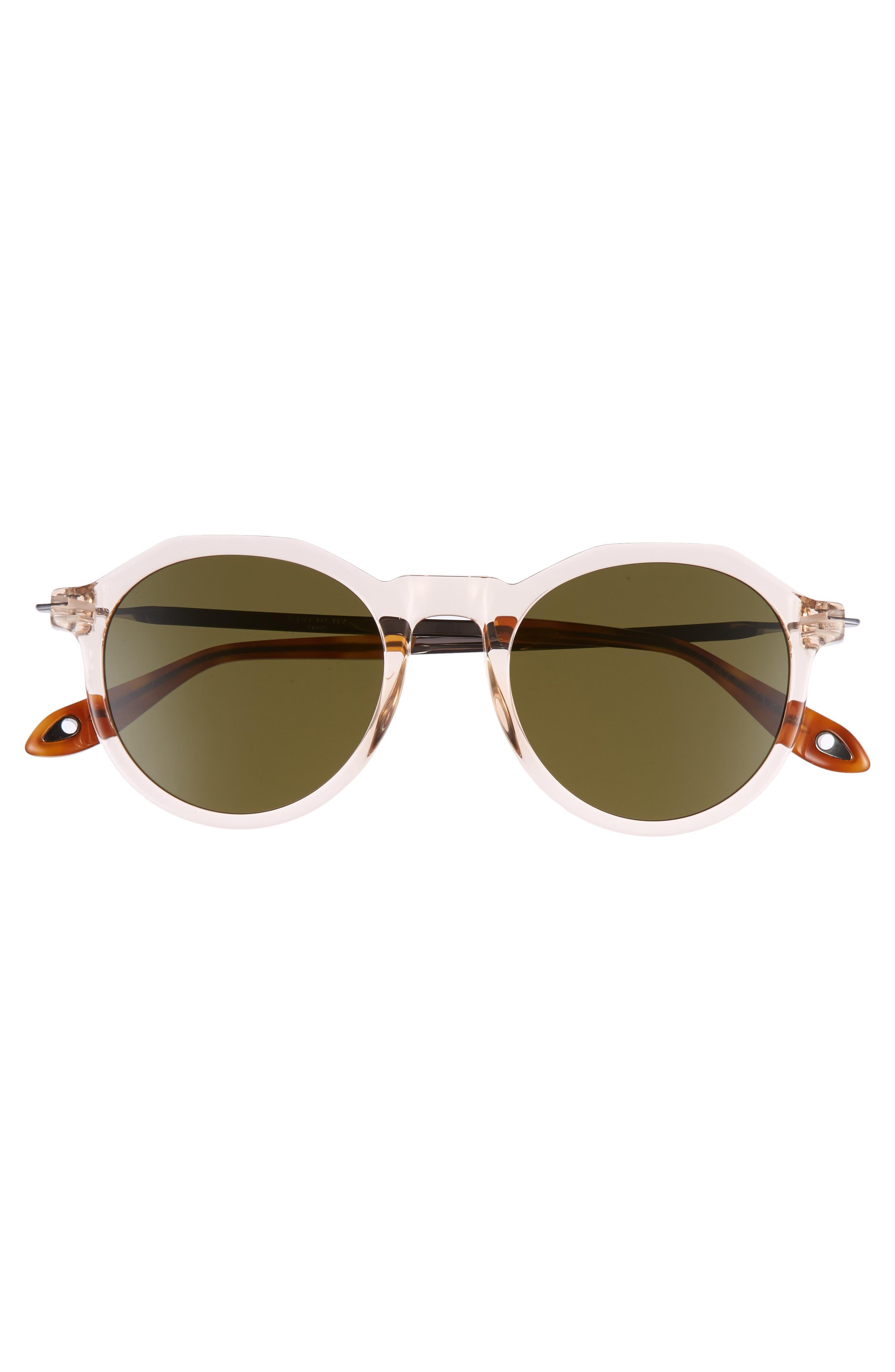 51mm Round Sunglasses,                             Alternate thumbnail 9, color,