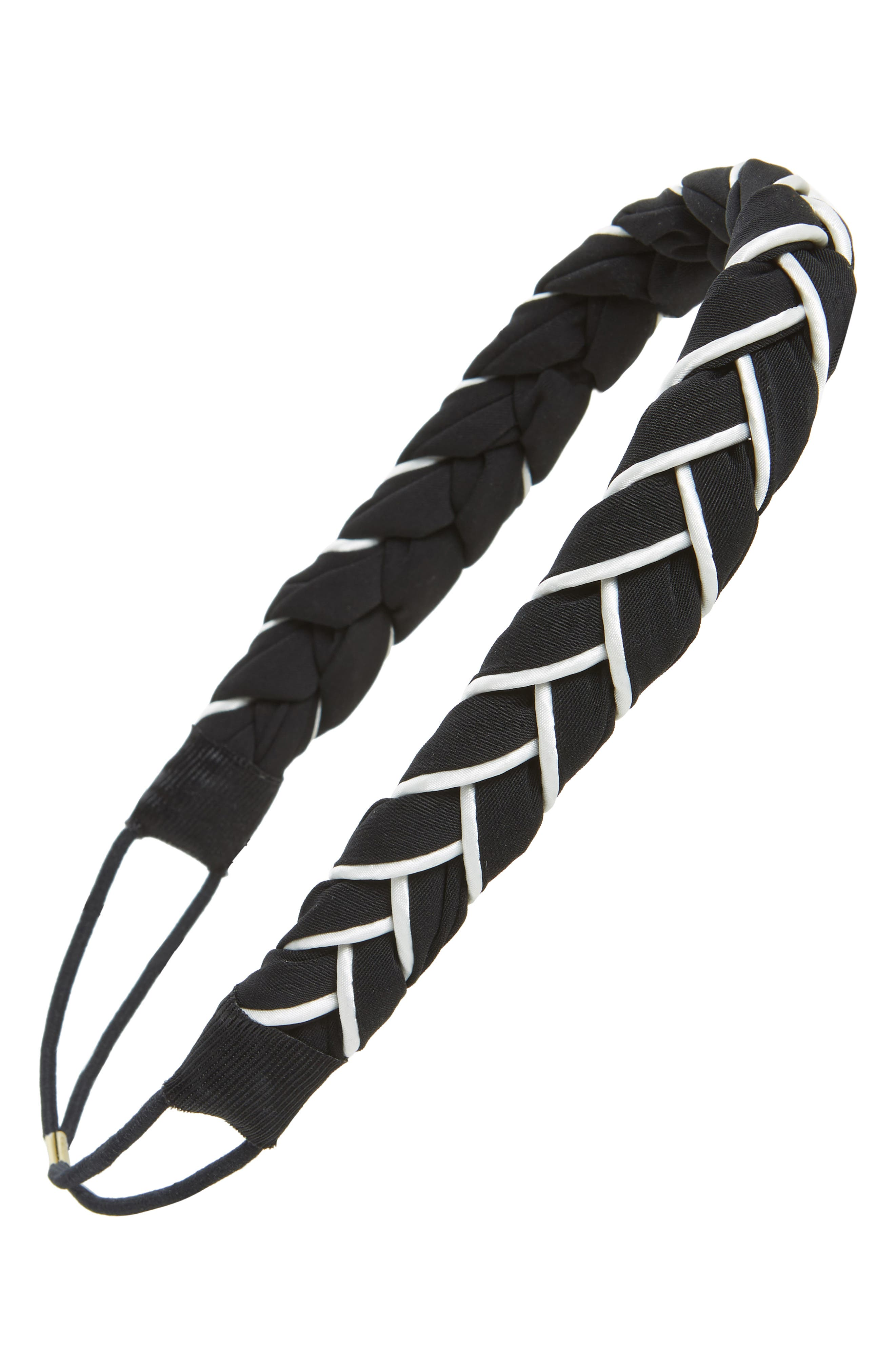 Twist Wrap Fabric Headband,                             Main thumbnail 1, color,                             001