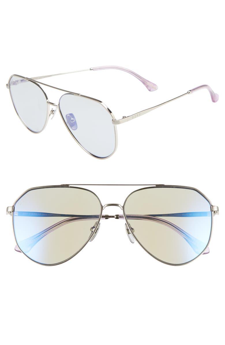 0c648938b89 DIFF x Jessie James Decker Dash 61mm Polarized Aviator Sunglasses ...