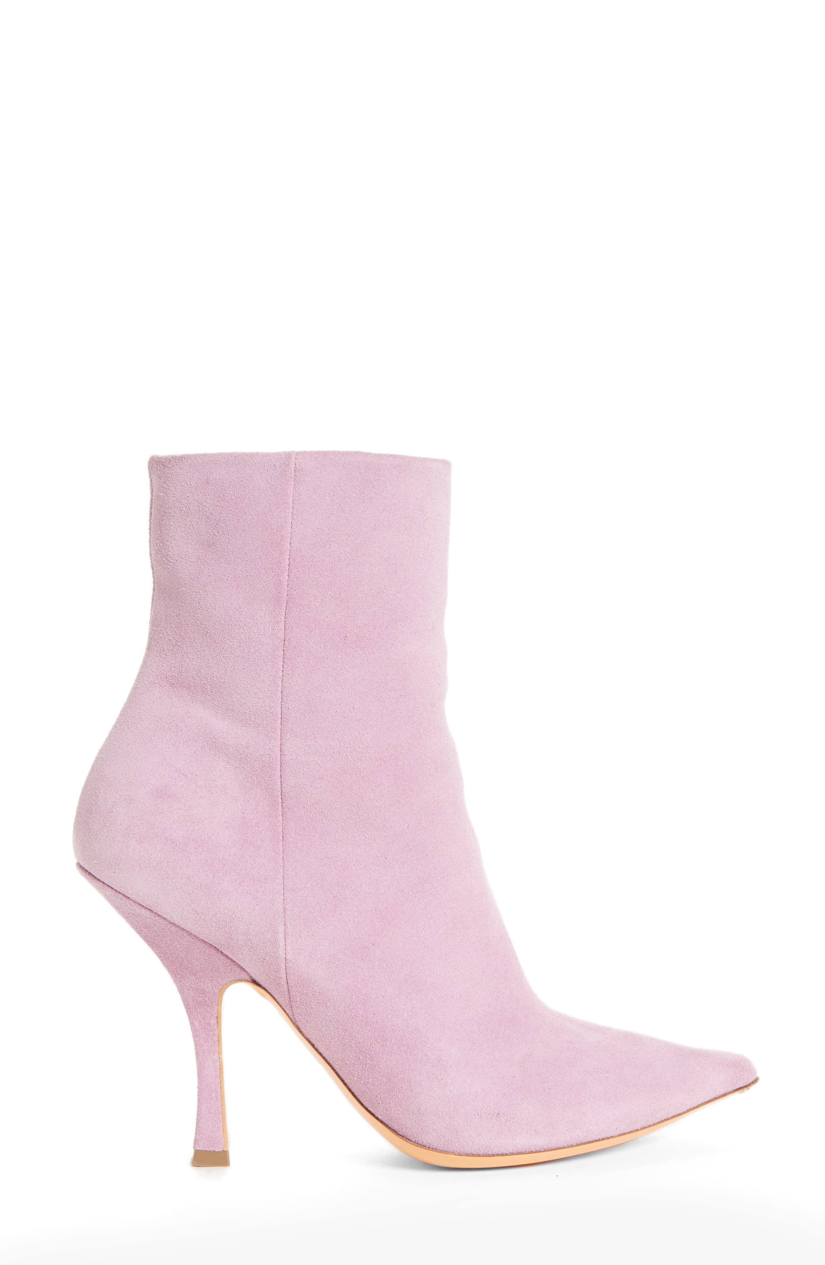 Suede Ankle Boot,                             Alternate thumbnail 3, color,                             500