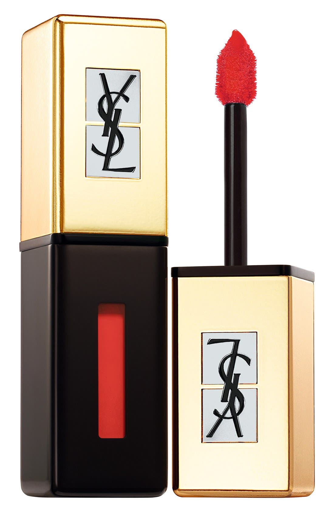 Yves Saint Laurent Pop Water - Vernis A Levres Glossy Stain - 202 Rouge Splash
