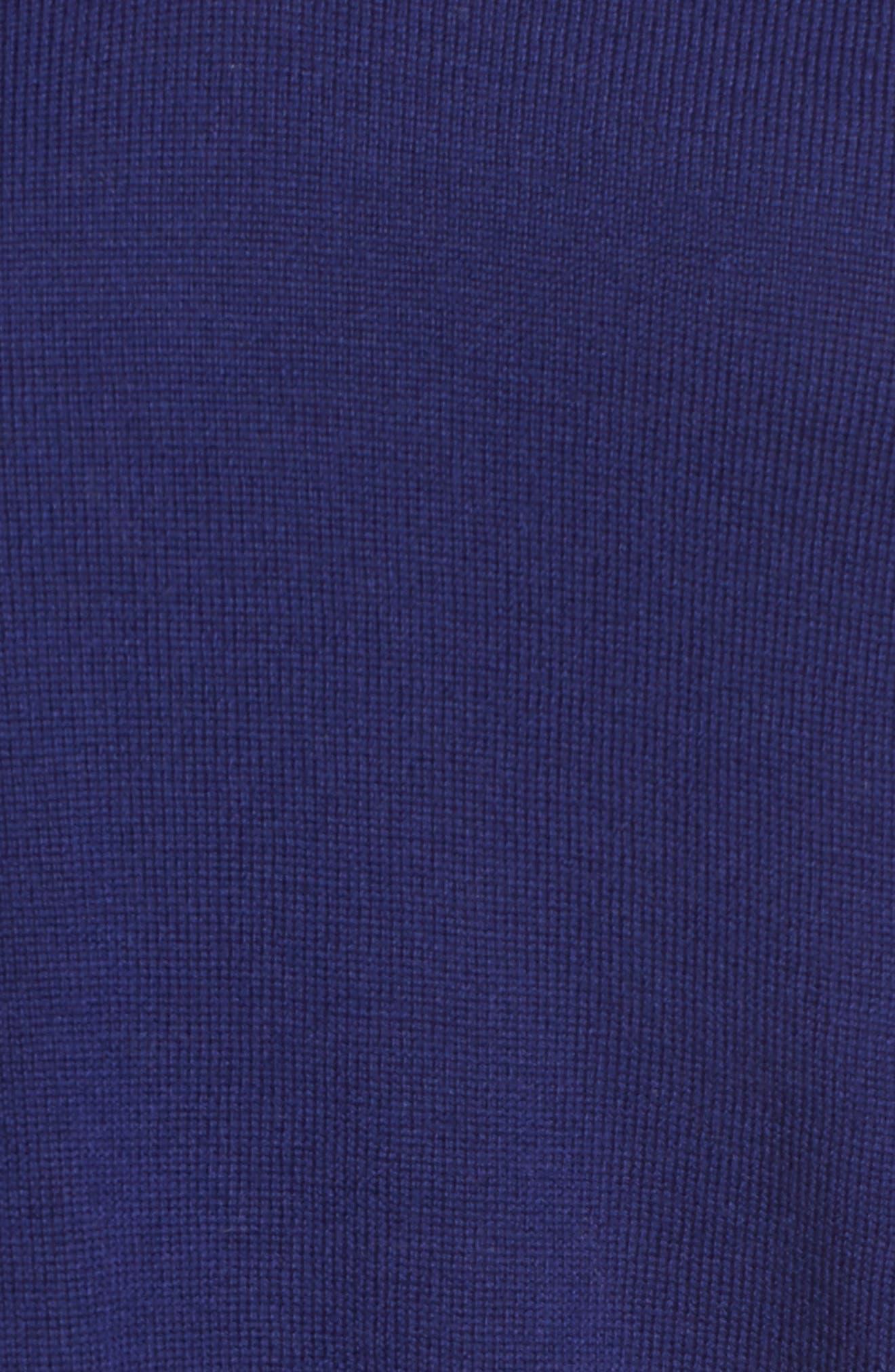 Lightweight Merino Jersey V-Neck Tunic,                             Alternate thumbnail 87, color,