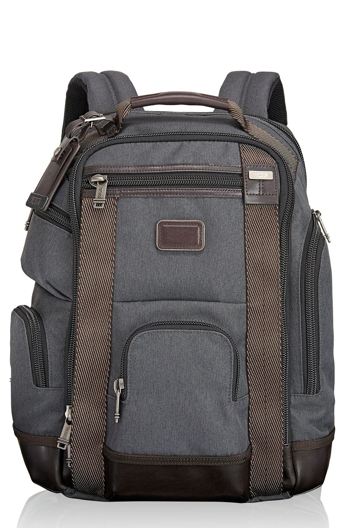 Alpha Bravo Shaw Deluxe Backpack,                             Main thumbnail 2, color,