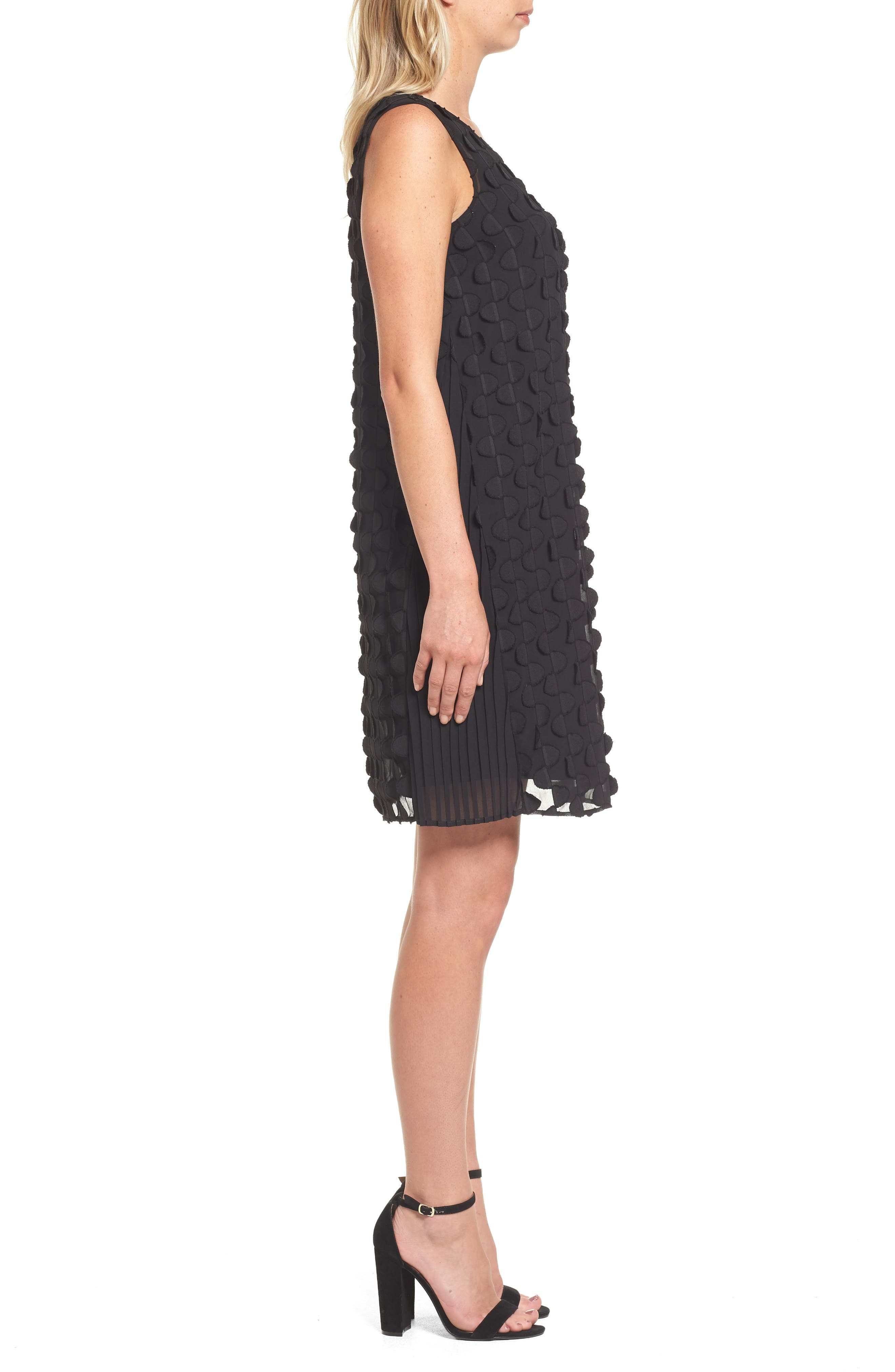 Nic + Zoe Showtime Shift Dress,                             Alternate thumbnail 3, color,                             004