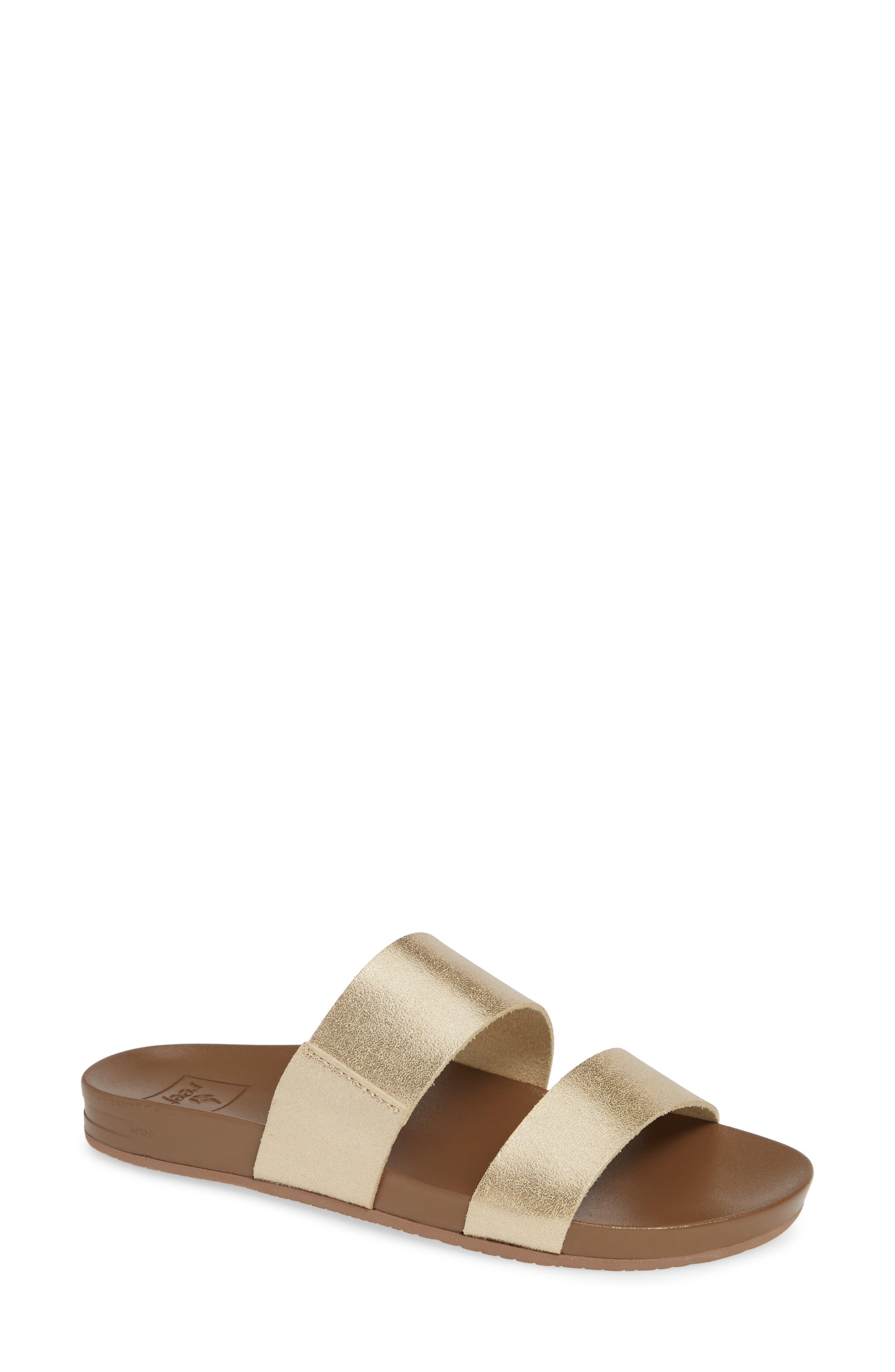 Cushion Bounce Vista Slide Sandal,                         Main,                         color, CHAMPAGNE