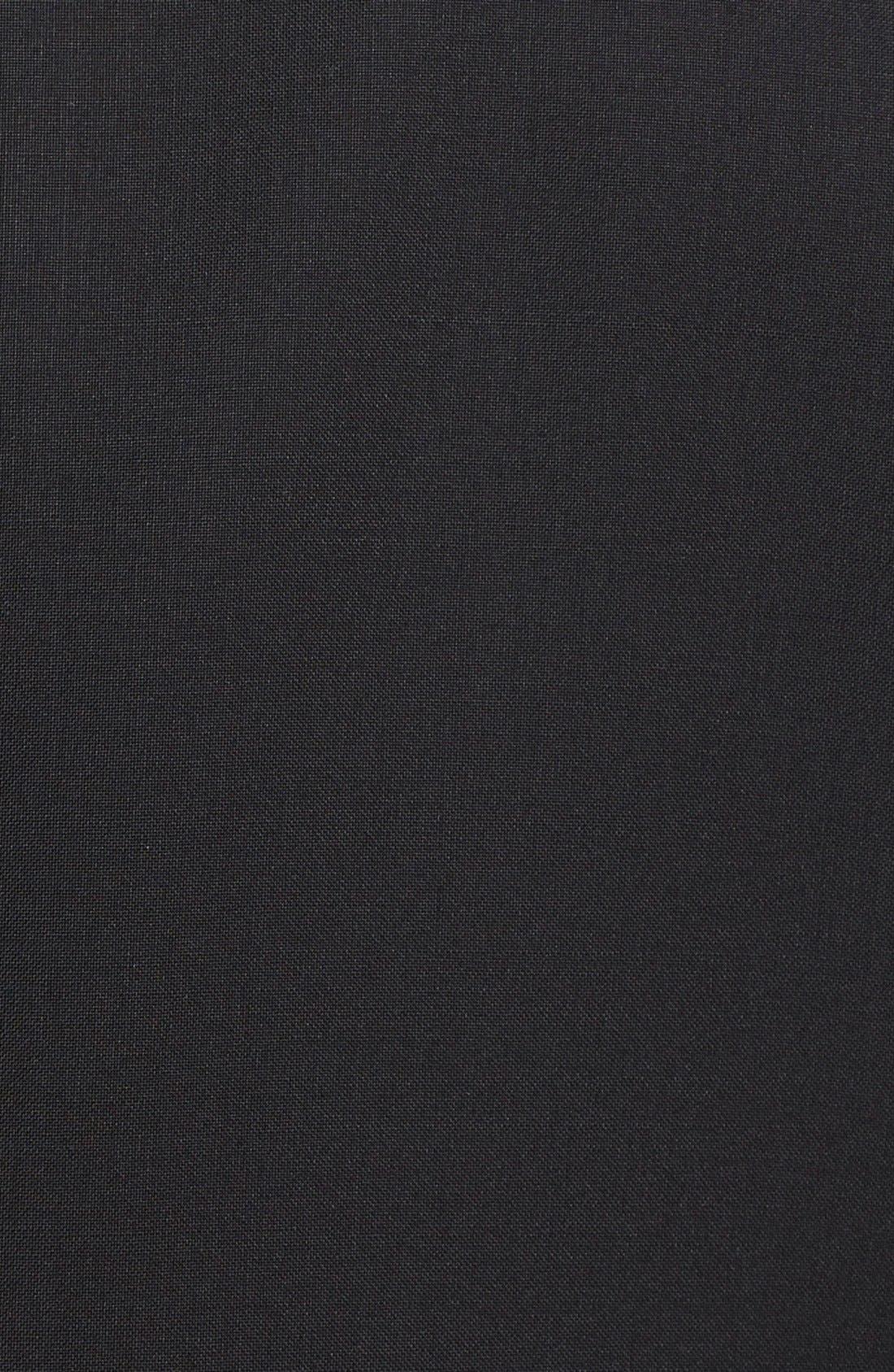 13000 Classic Fit Wool & Mohair Tuxedo,                             Alternate thumbnail 6, color,                             BLACK