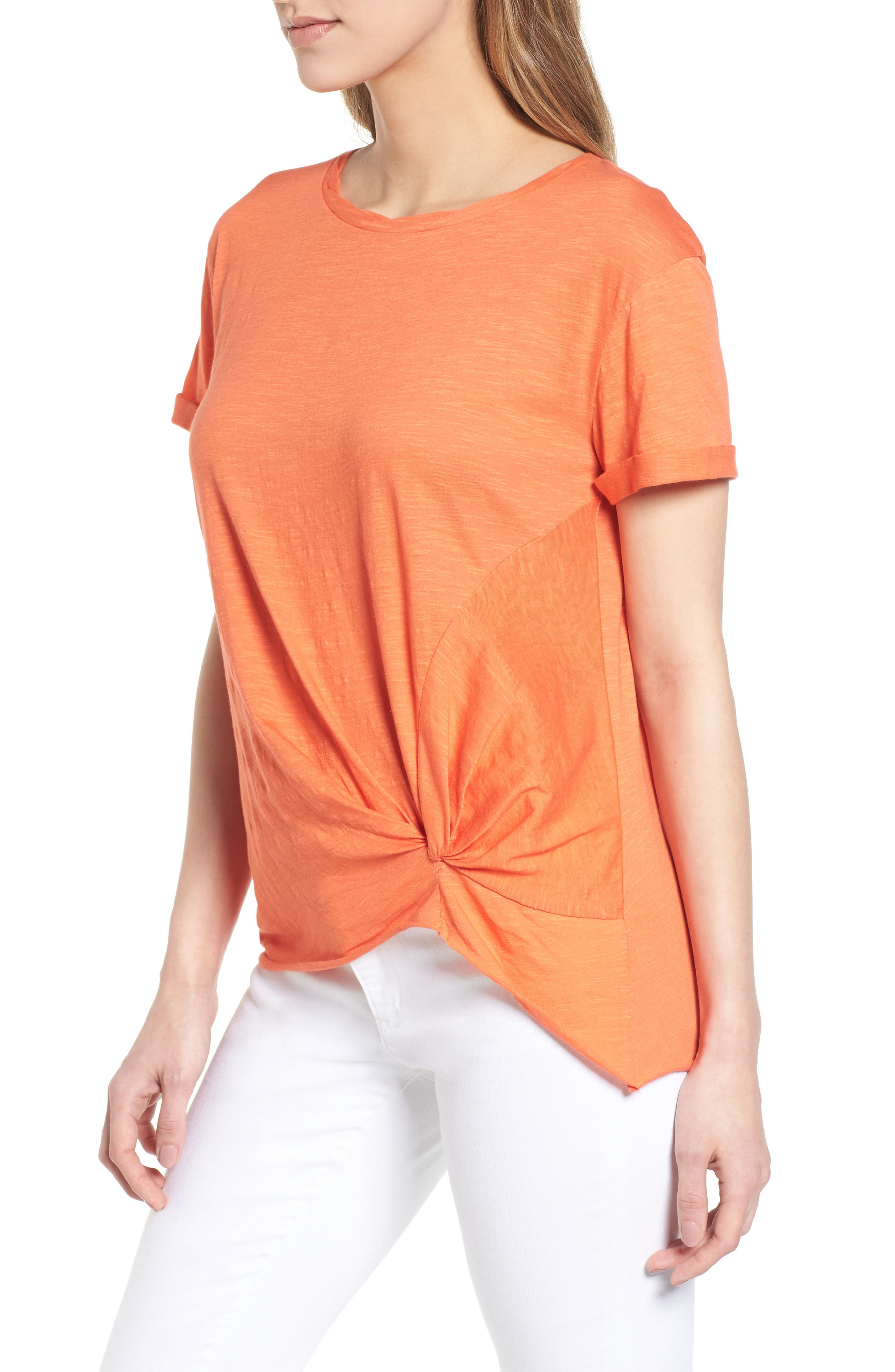 Knotted Tee,                             Alternate thumbnail 25, color,
