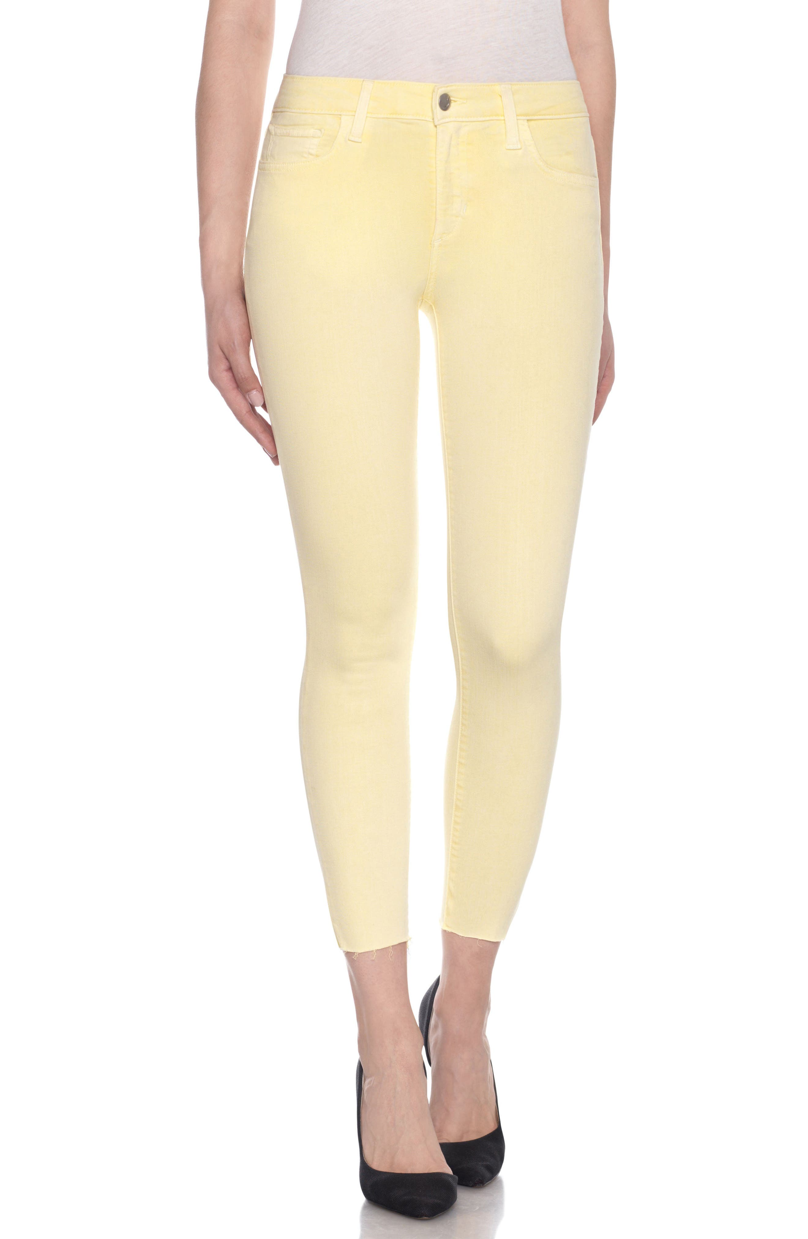 Charlie High Rise Ankle Skinny Jeans,                             Main thumbnail 10, color,