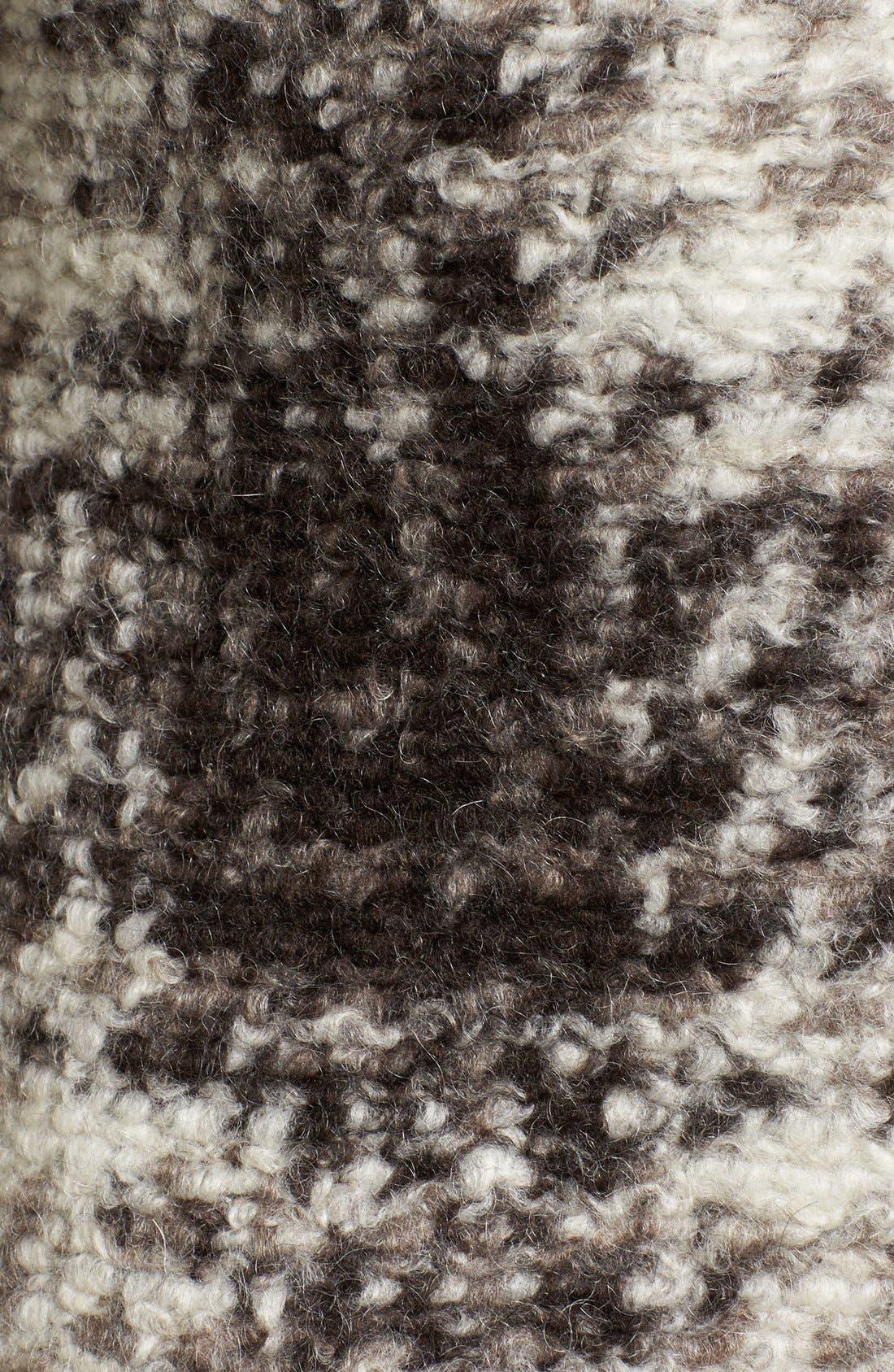 BERNARDO,                             Plaid Sweater Coat,                             Alternate thumbnail 5, color,                             200