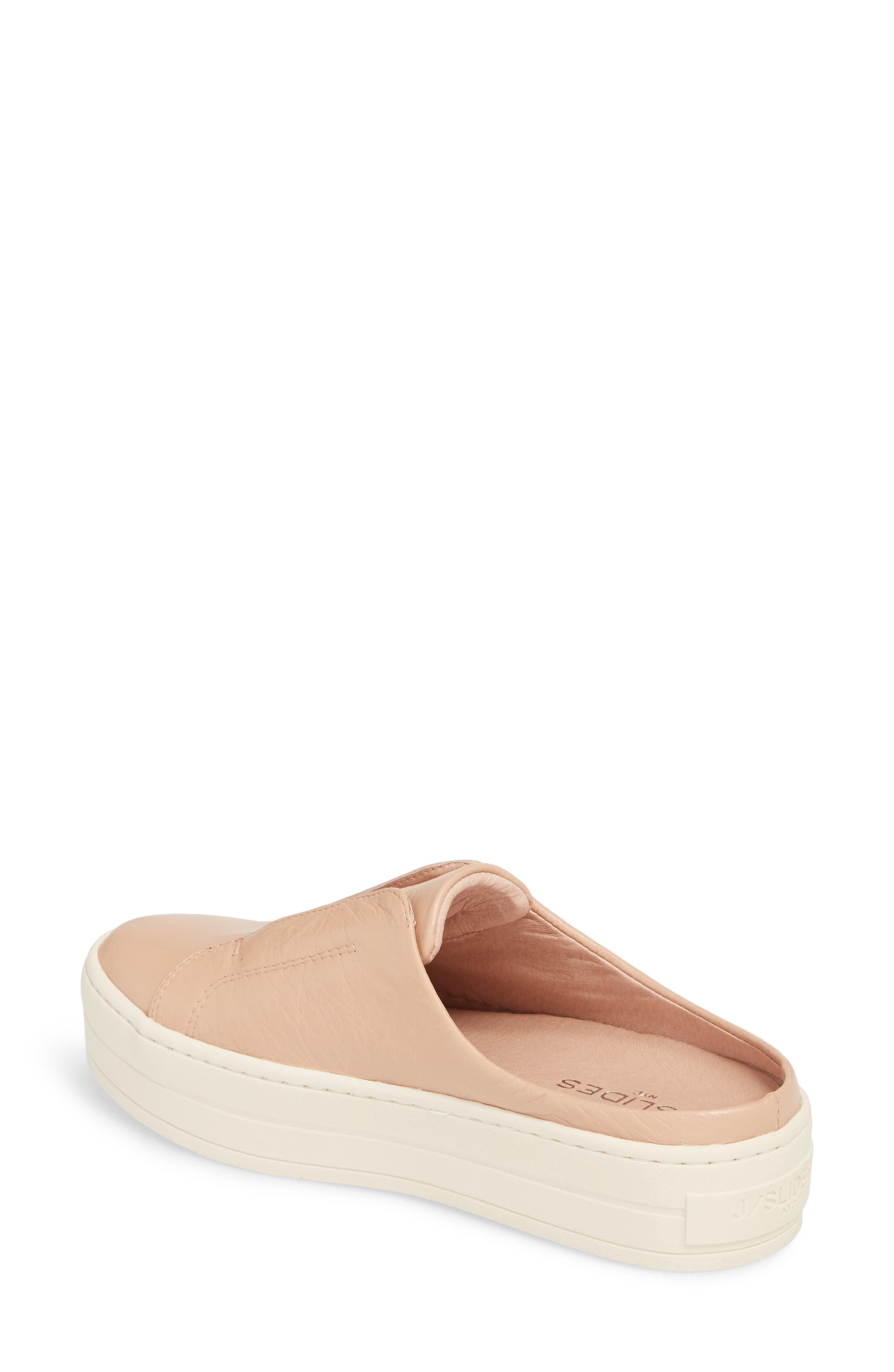 Hara Sneaker Mule,                             Alternate thumbnail 2, color,                             BLUSH SUEDE