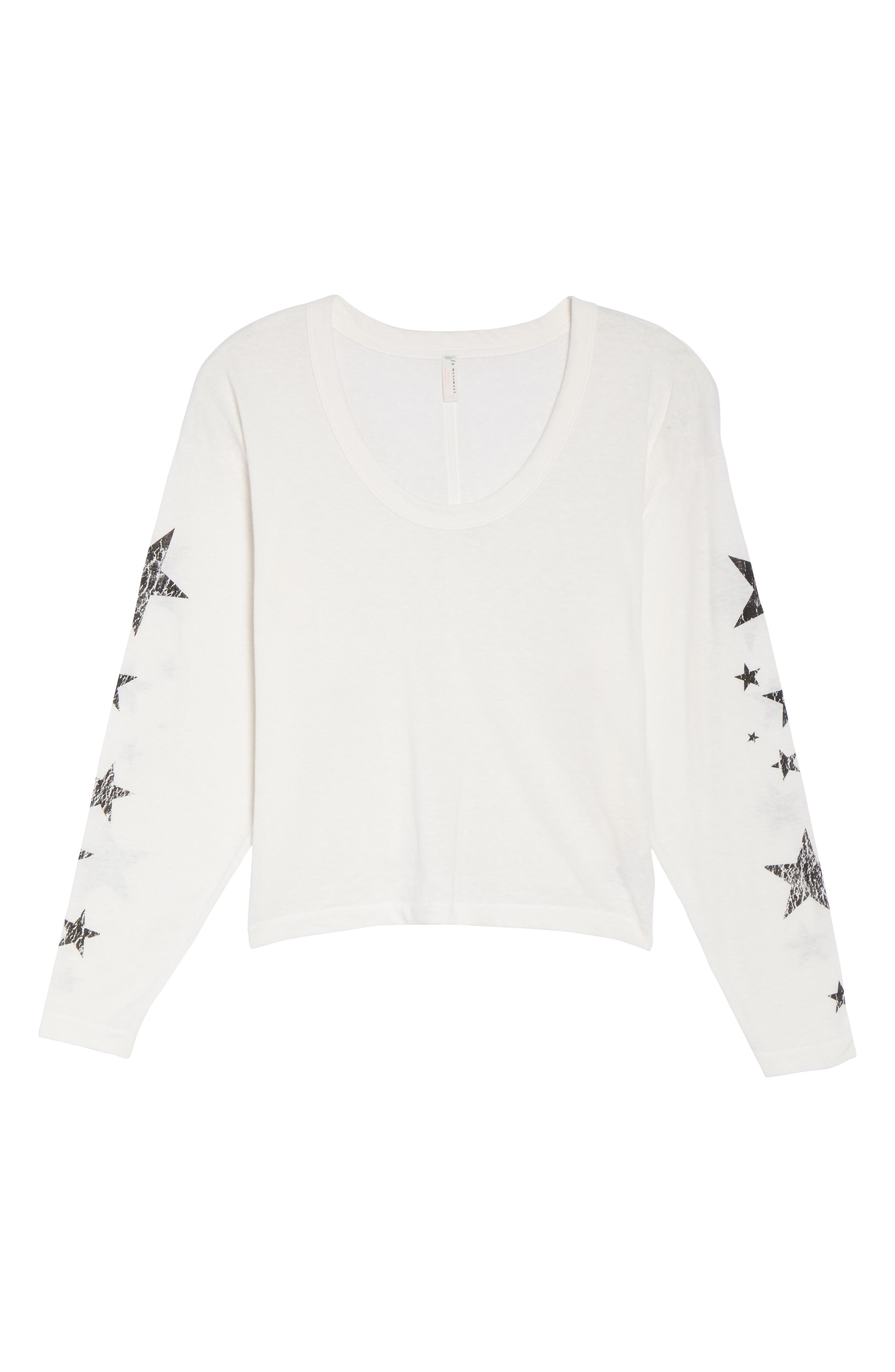 Free People Melrose Star Graphic Top,                             Alternate thumbnail 18, color,