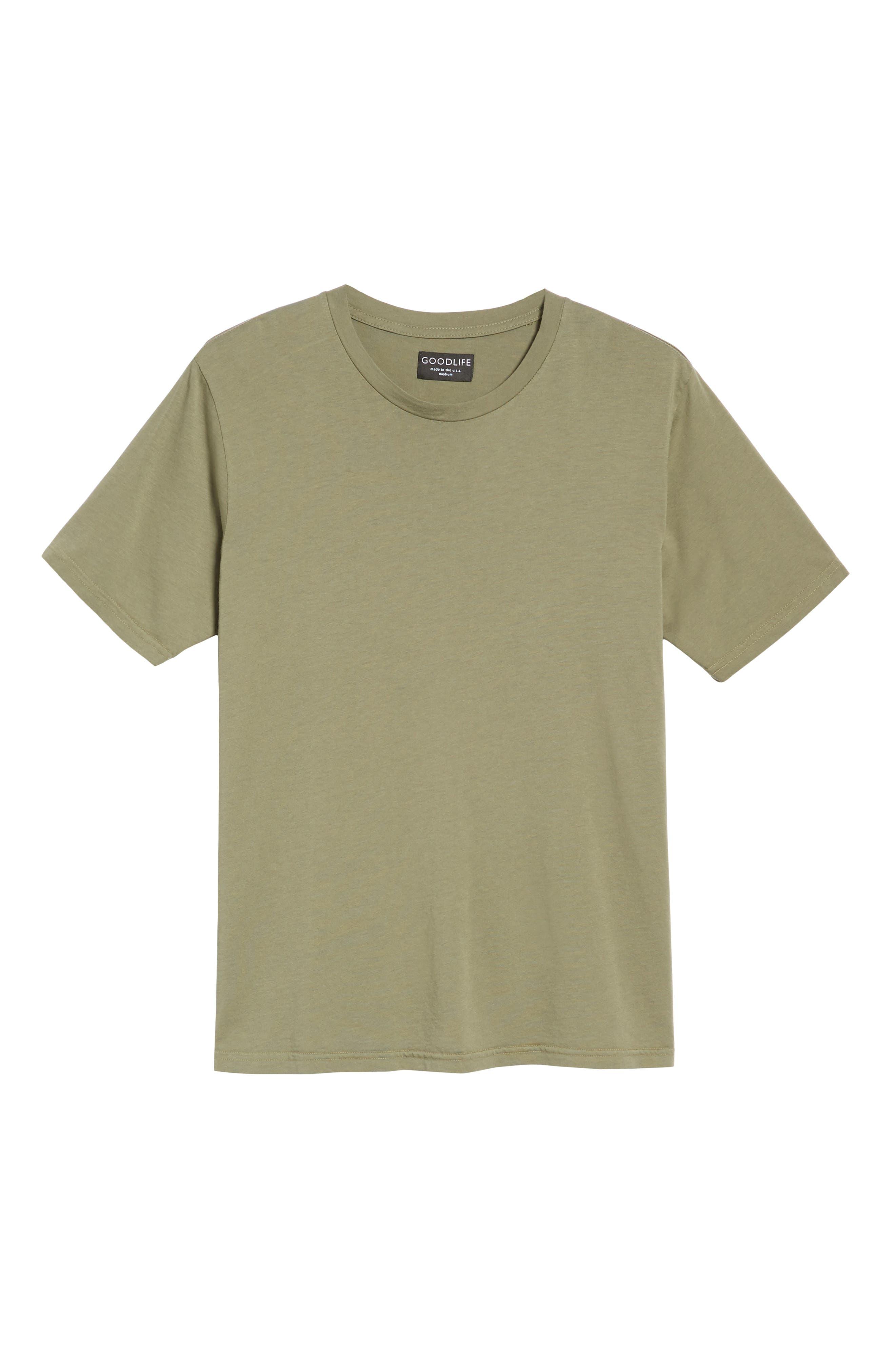 Crewneck T-Shirt,                             Alternate thumbnail 6, color,                             313