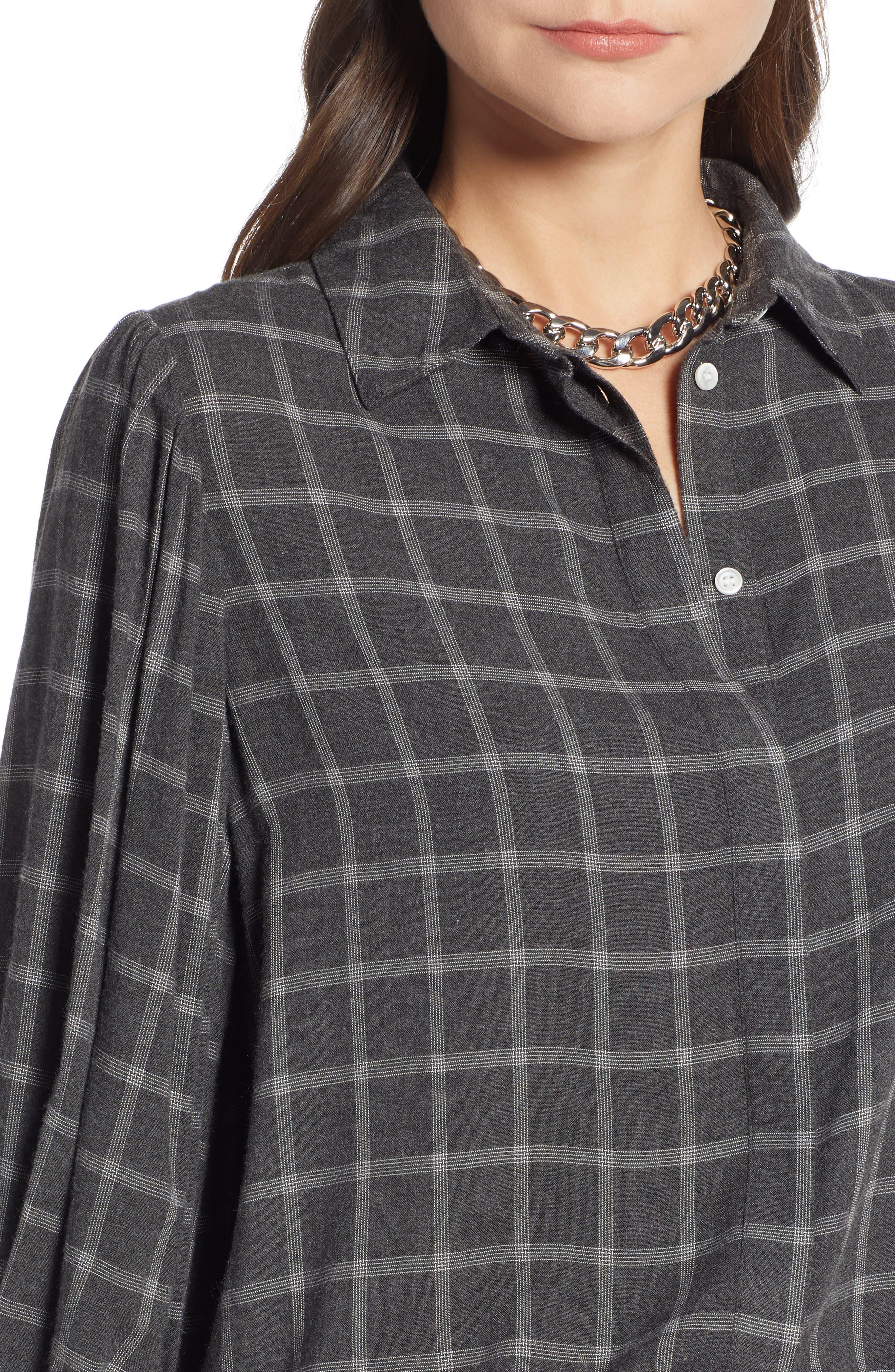 Full Sleeve Flannel Shirt,                             Alternate thumbnail 5, color,                             030