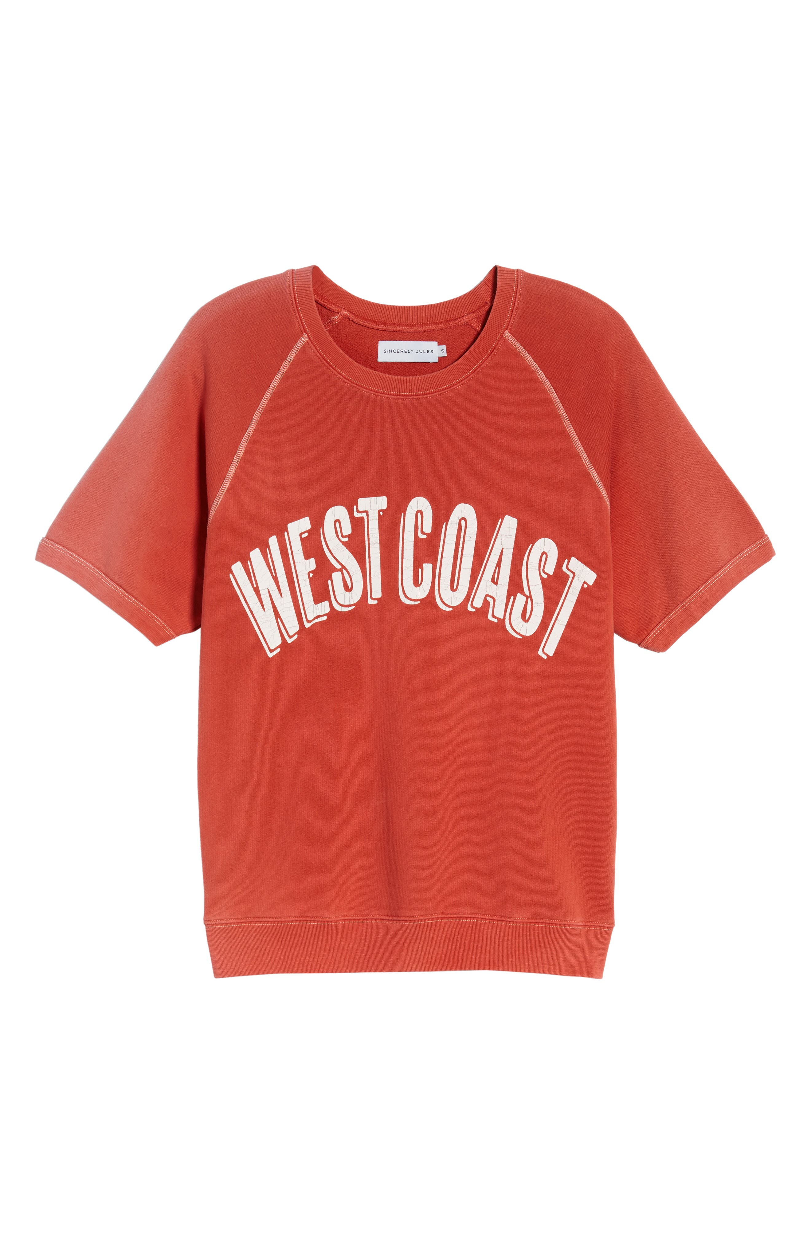West Coast Sweatshirt,                             Alternate thumbnail 6, color,                             600