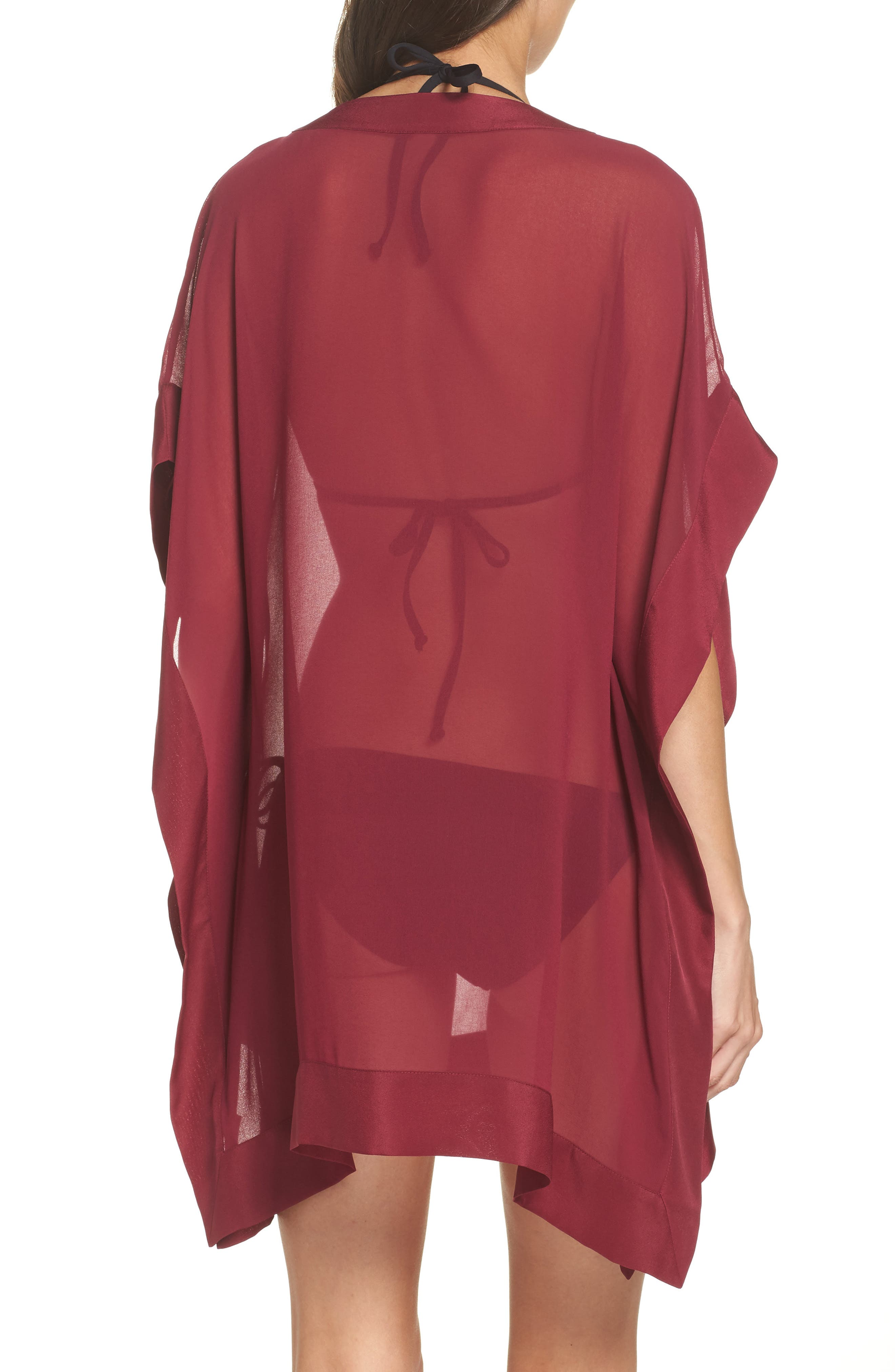 Holical Cover-Up Tunic,                             Alternate thumbnail 2, color,                             DEEP PINK