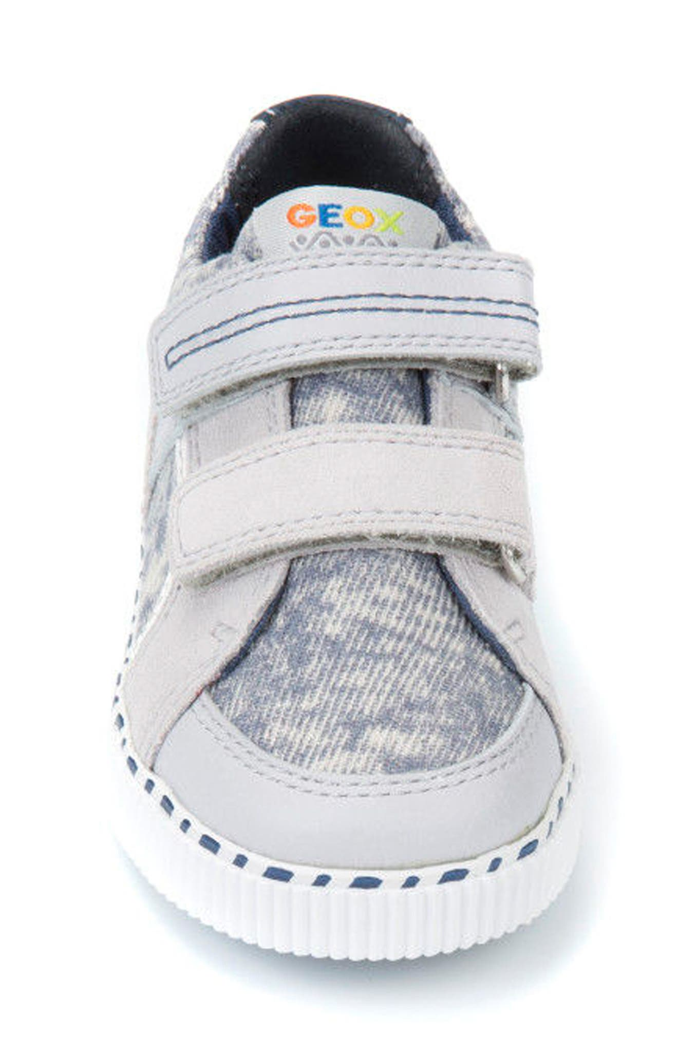 Kilwi Knit Sneaker,                             Alternate thumbnail 4, color,                             LIGHT GREY/ WHITE