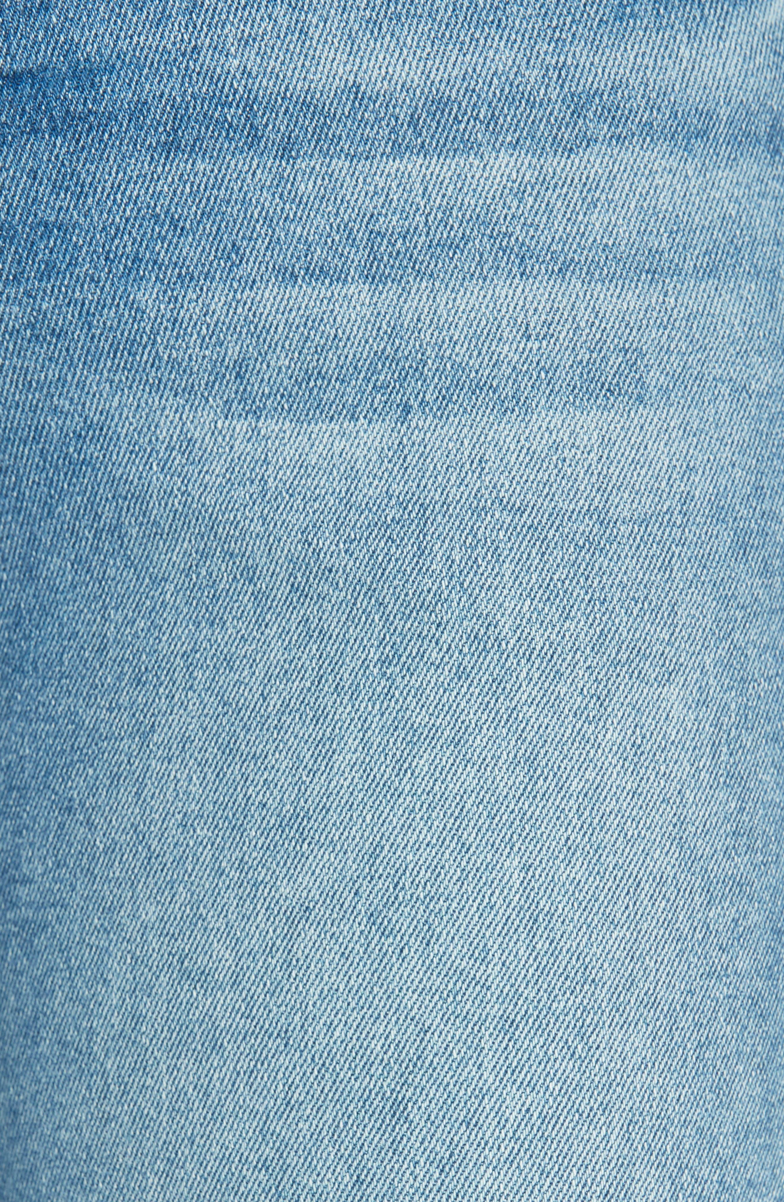 Le High Skinny Jeans,                             Alternate thumbnail 6, color,                             DUPONT DRIVE