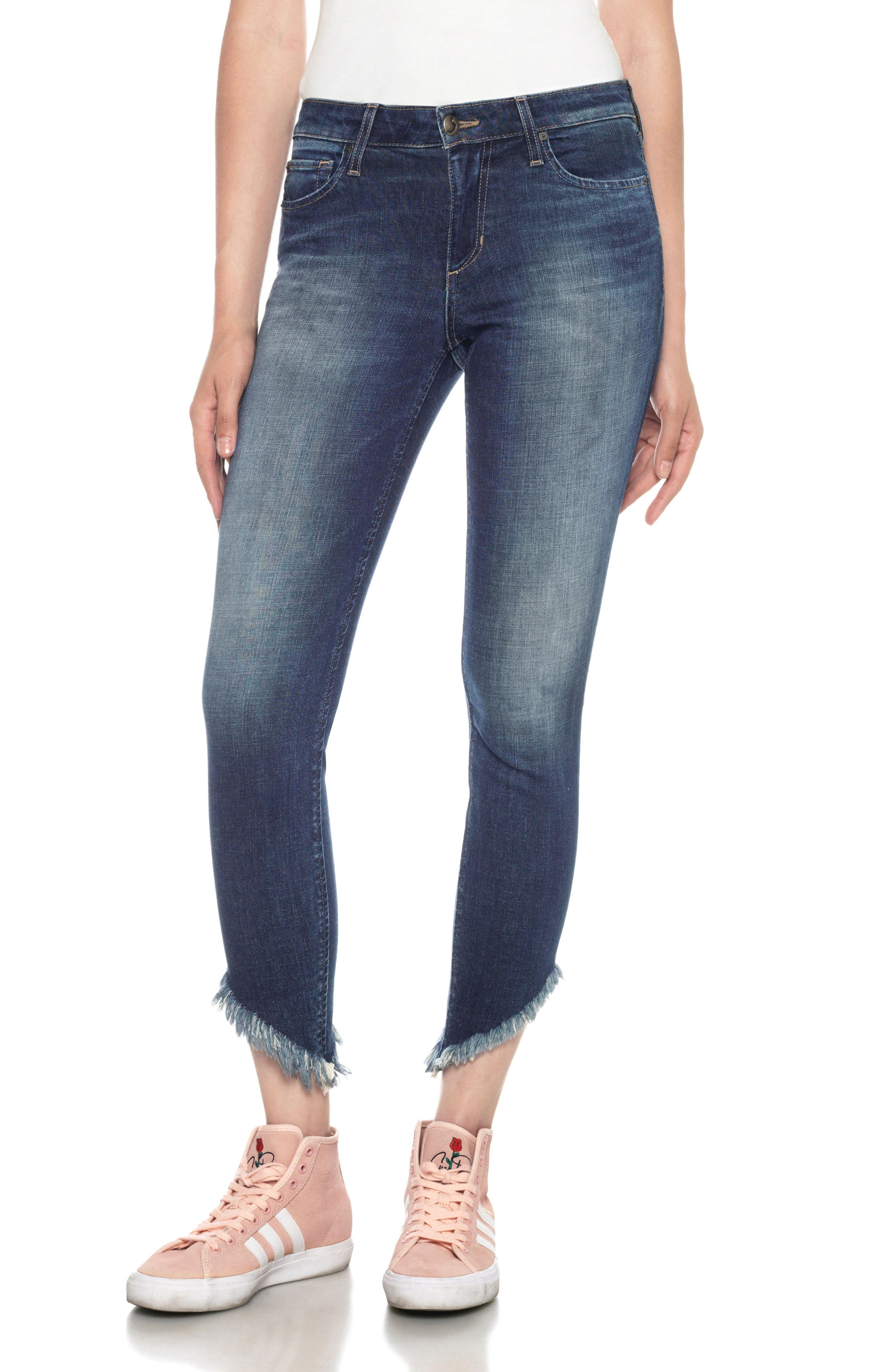 Icon Ankle Skinny Jeans,                         Main,                         color, 410