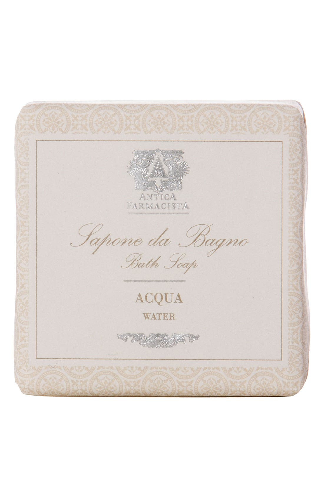ANTICA FARMACISTA 'Acqua' Bar Soap, Main, color, 000