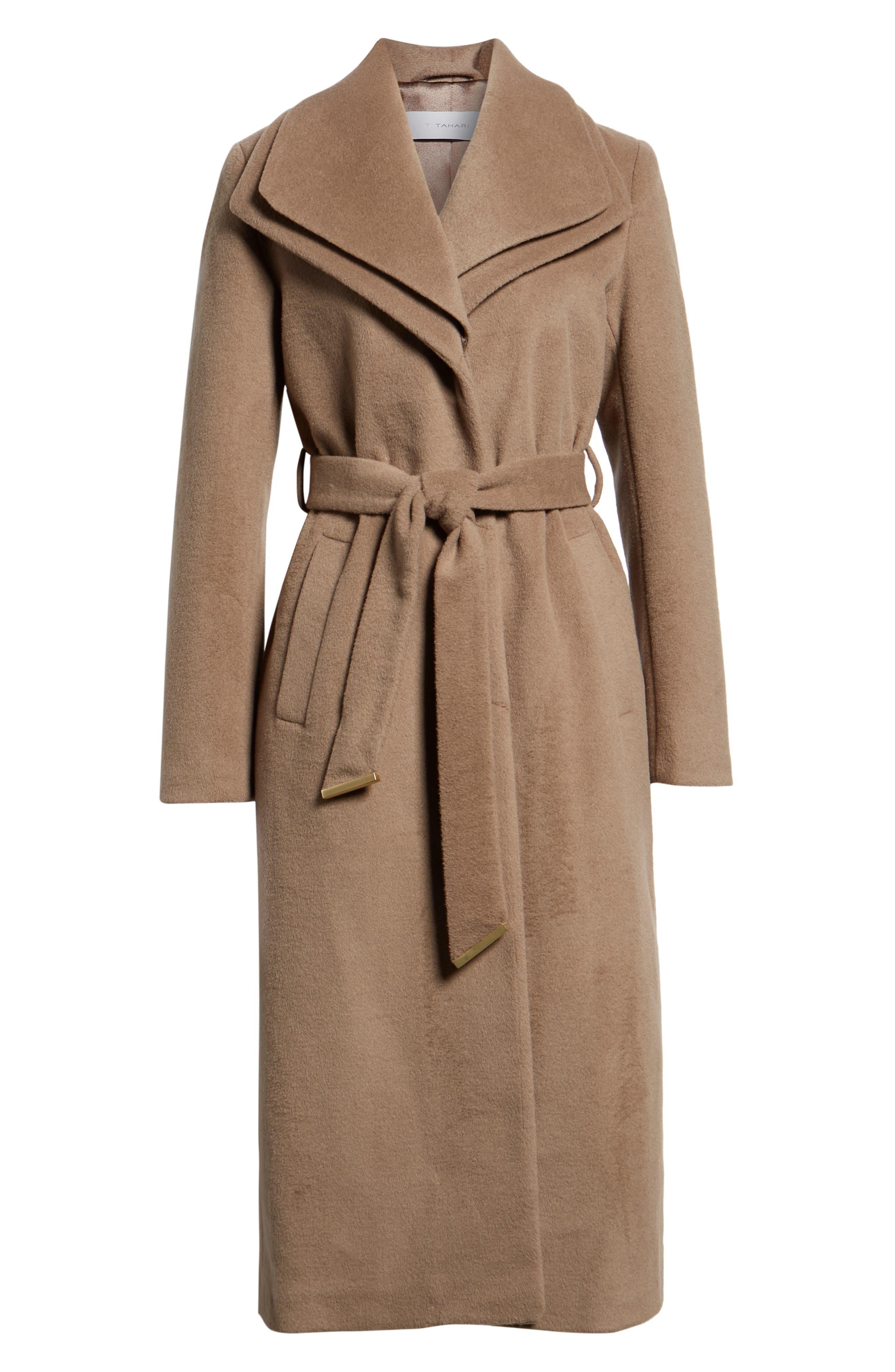 Alice Wool Maxi Coat, Alternate, color, MINK