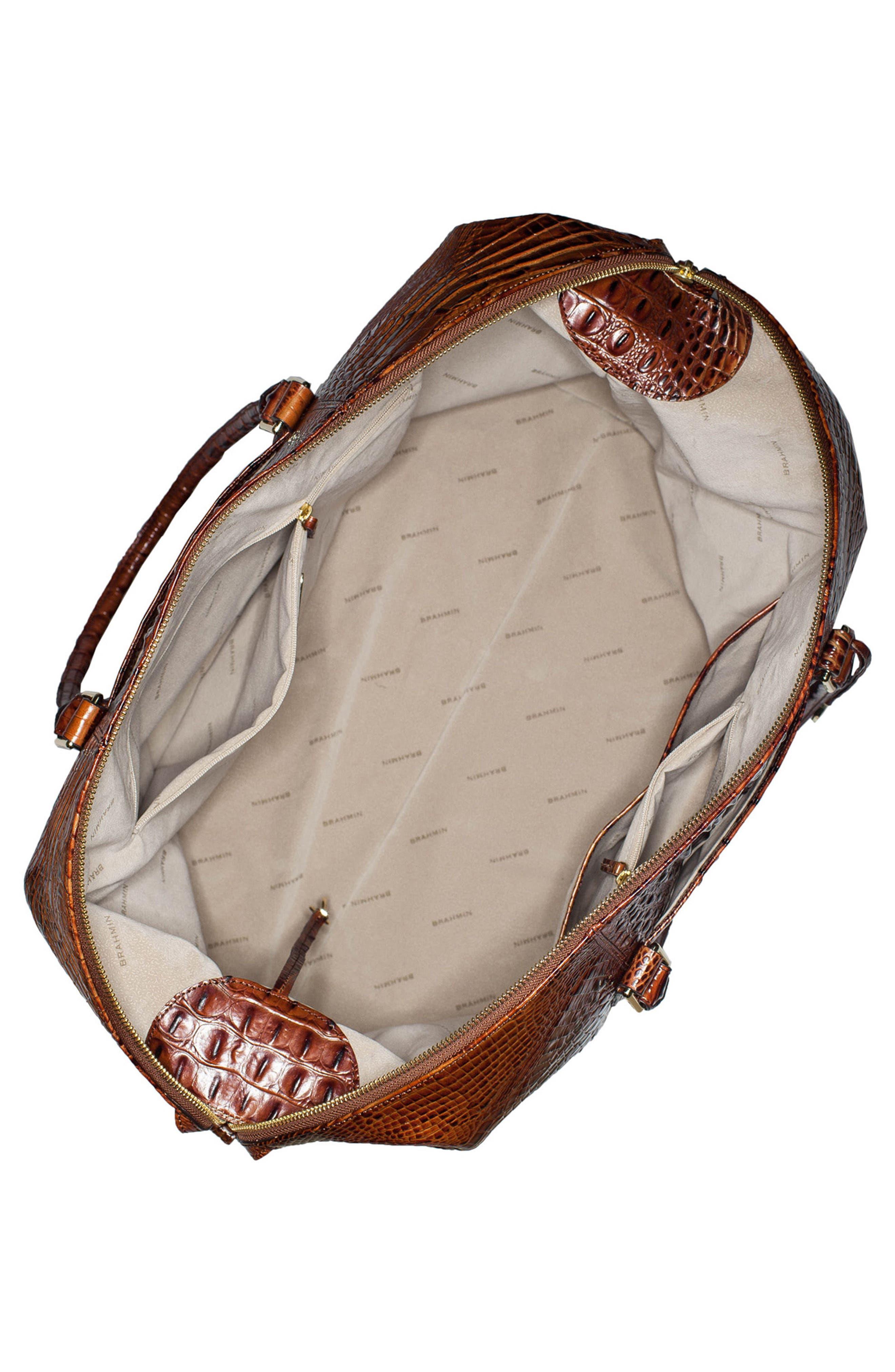 'Duxbury' Leather Travel Bag,                             Alternate thumbnail 10, color,