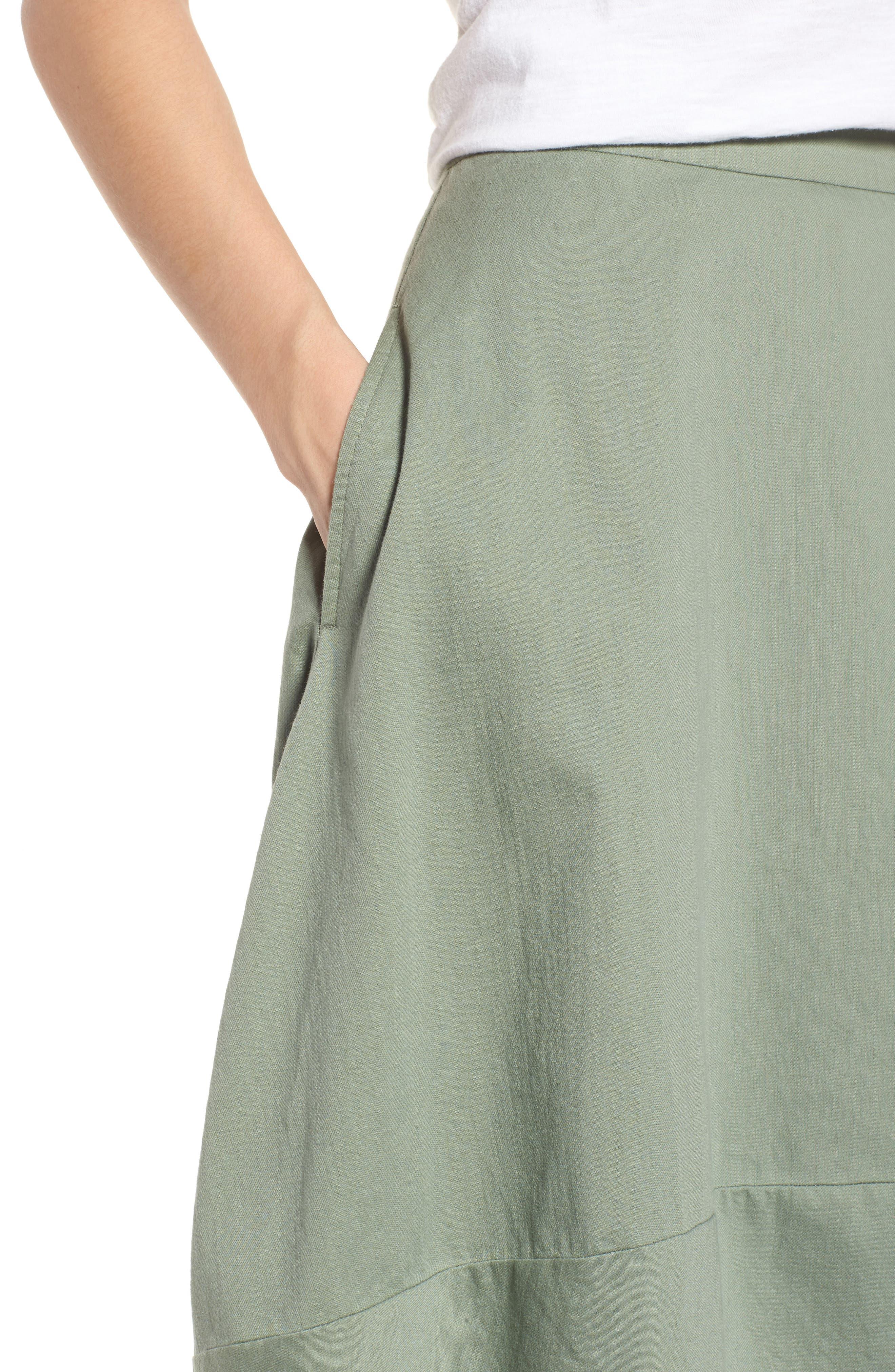 Organic Cotton Lantern Skirt,                             Alternate thumbnail 14, color,