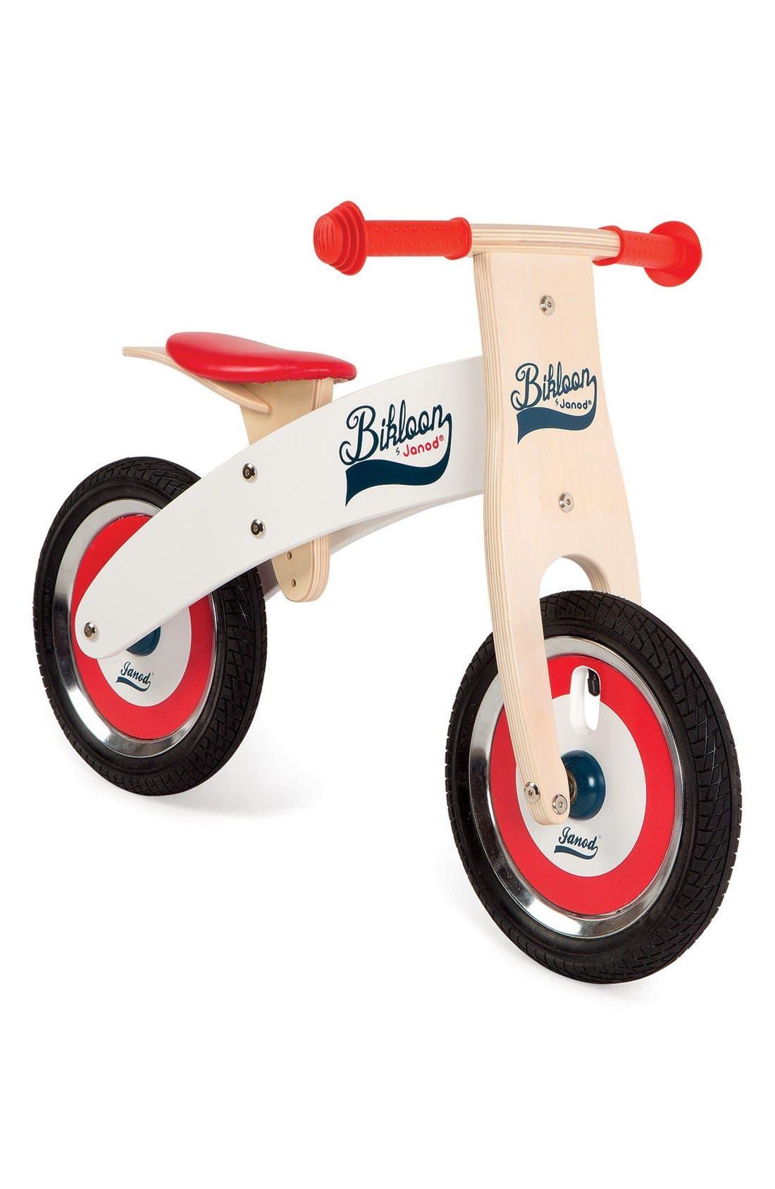 'Bikloon' Balance Bike,                             Main thumbnail 1, color,                             RED
