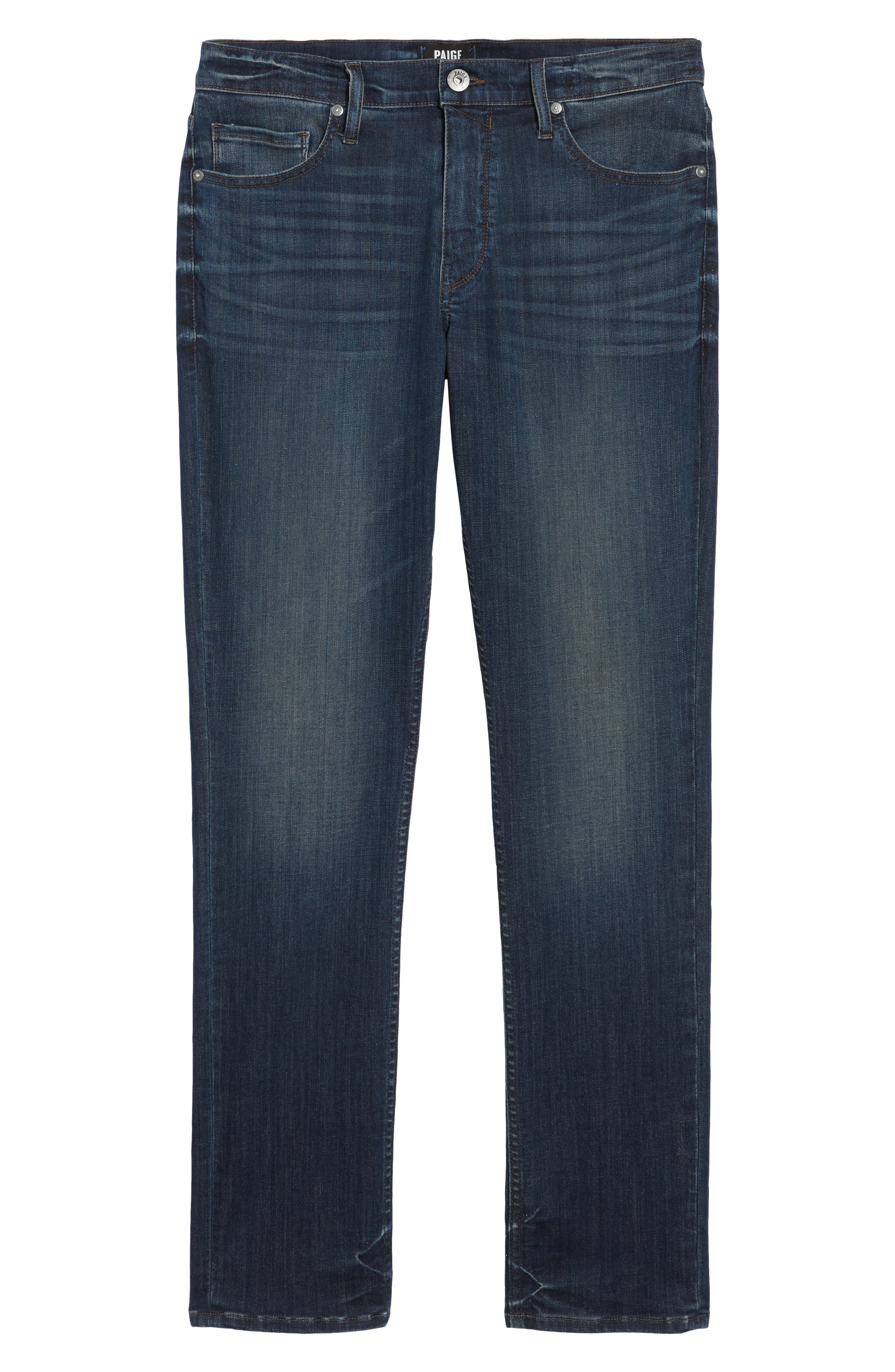 Transcend - Lennox Slim Fit Jeans,                             Alternate thumbnail 6, color,                             400