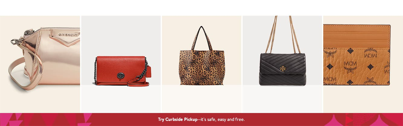 Women's handbags and wallets. Try Curbside Pickup—it's safe, easy and free.