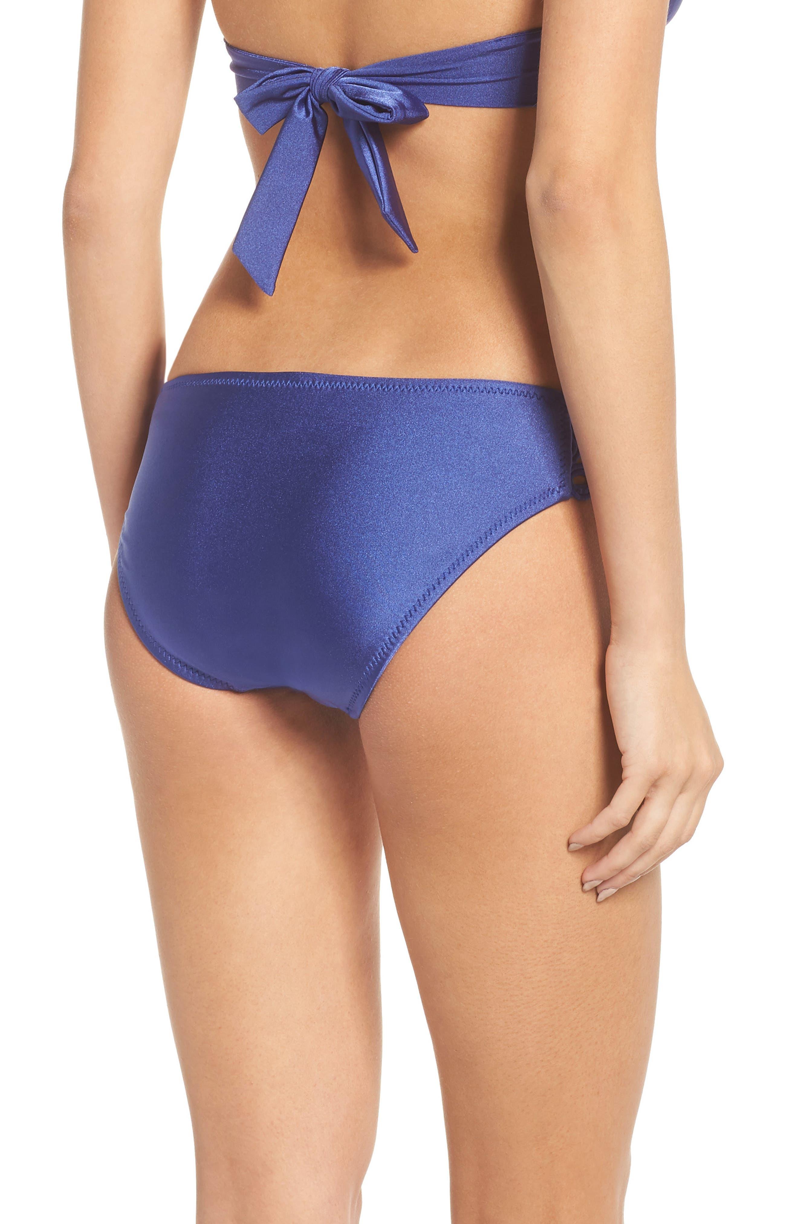 Siren Bikini Bottoms,                             Alternate thumbnail 2, color,                             BLUE TOPAZ