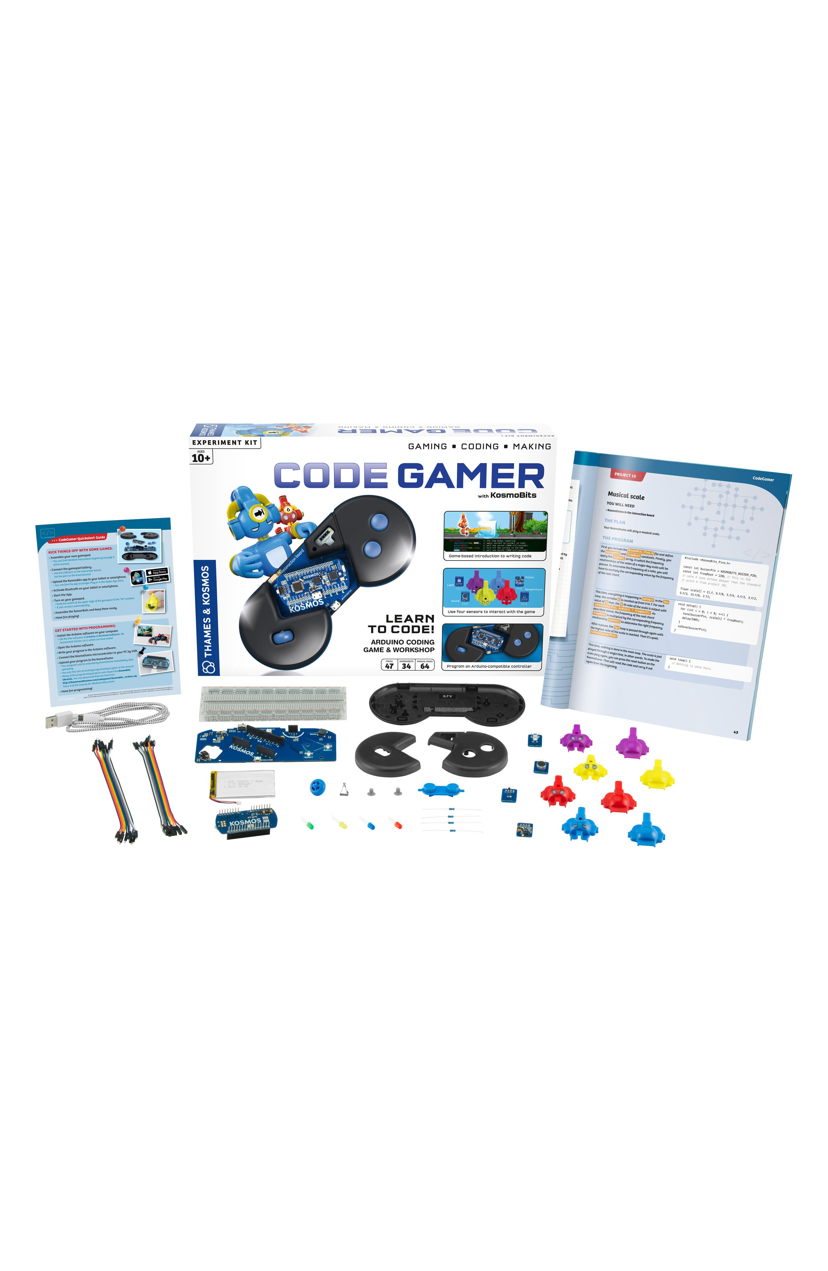 Code Gamer Experiment Kit,                             Alternate thumbnail 6, color,                             100
