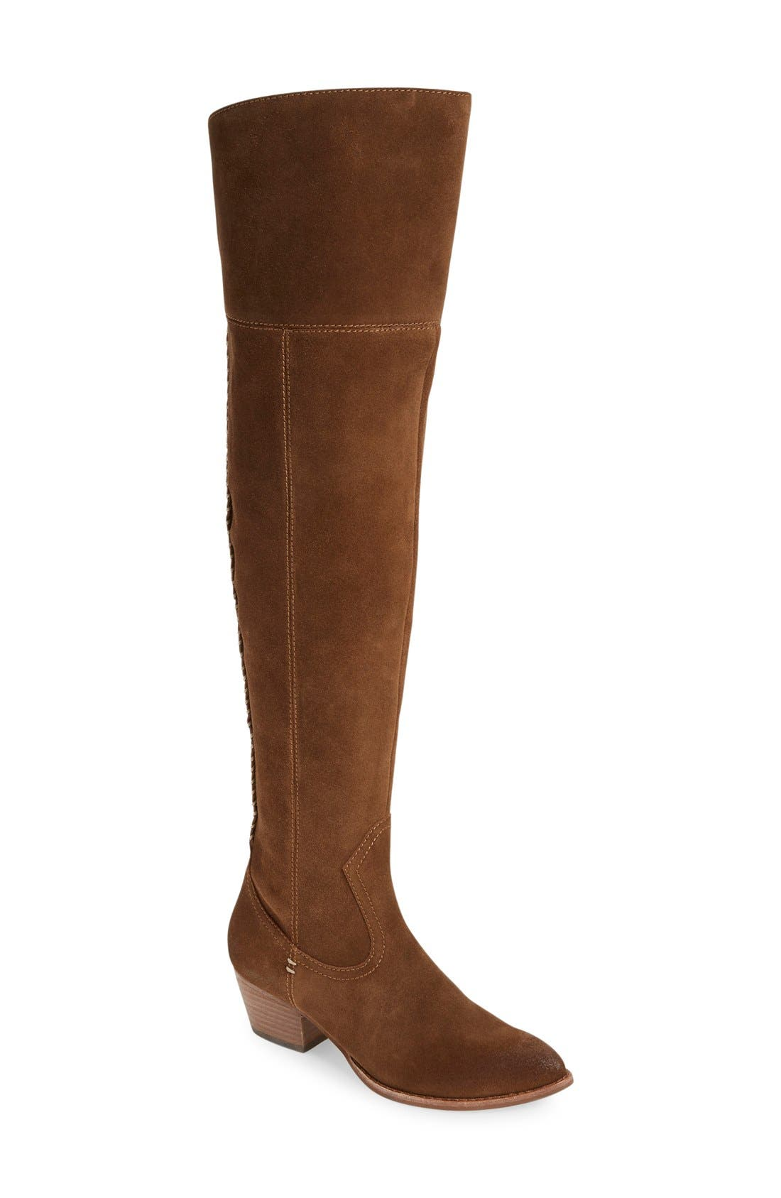 'Silas' Over the Knee Boot,                             Main thumbnail 3, color,