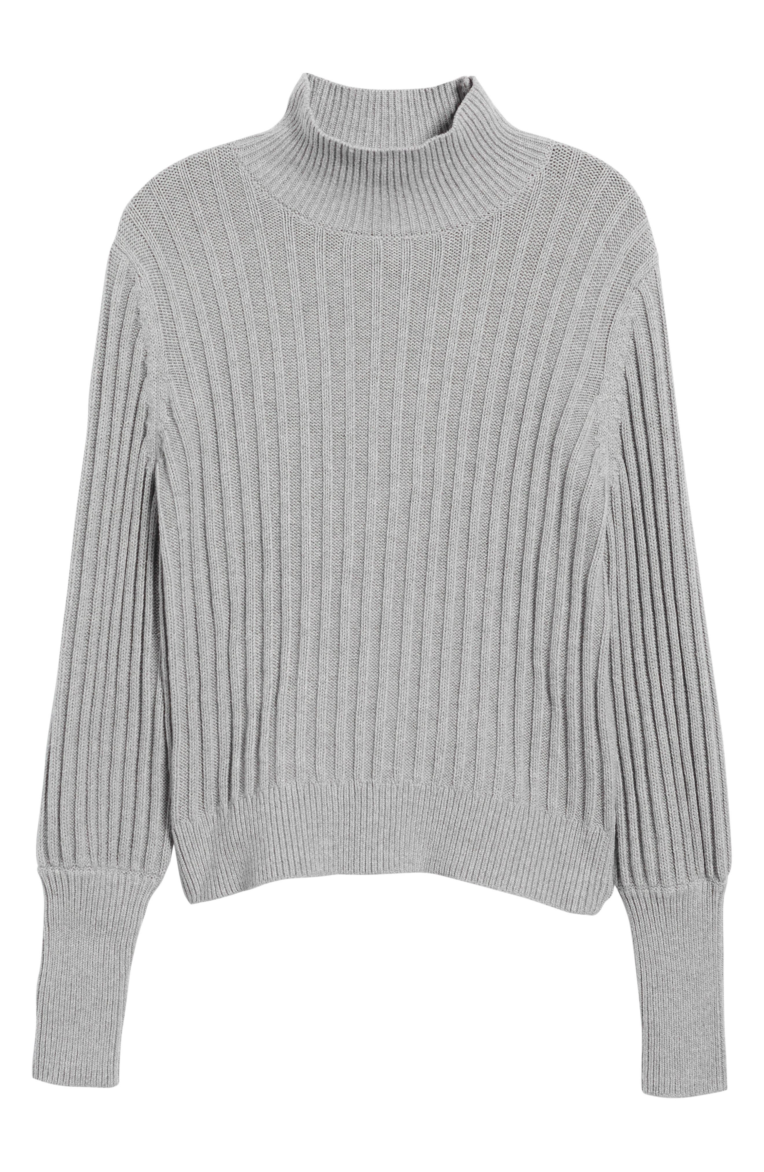 Galactic Puff Sleeve Sweater,                             Alternate thumbnail 6, color,                             051