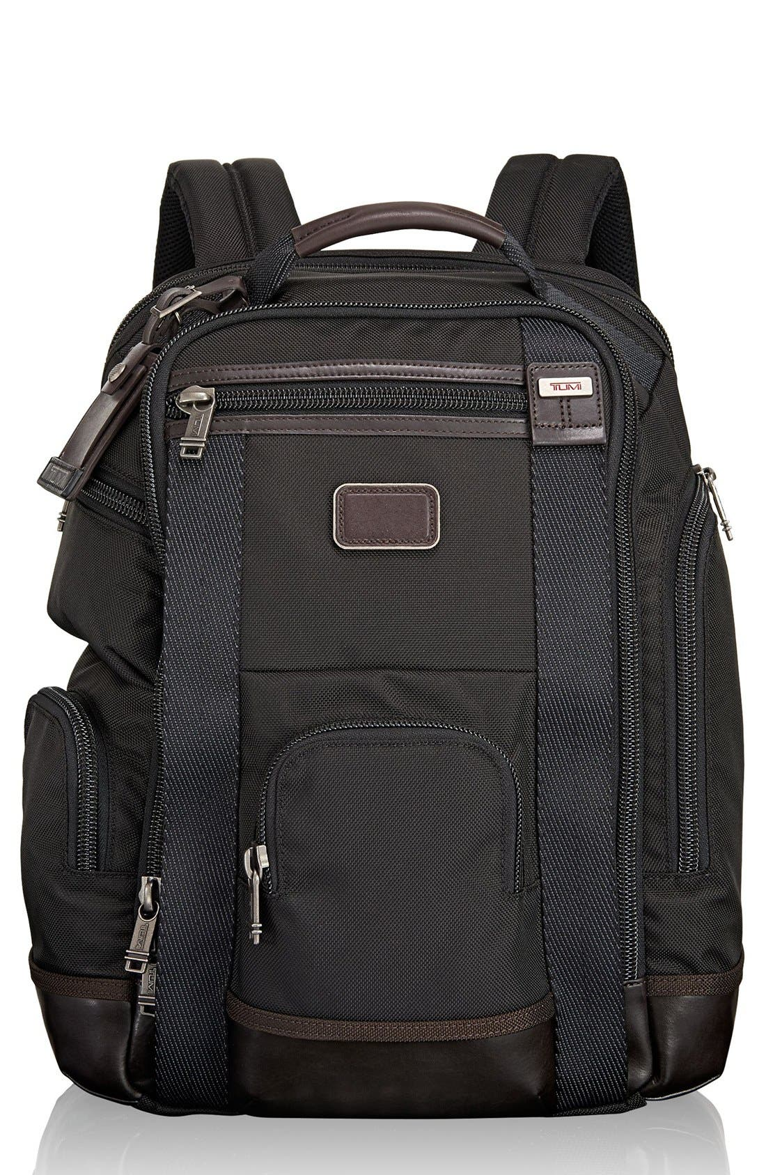Alpha Bravo Shaw Deluxe Backpack,                             Main thumbnail 1, color,