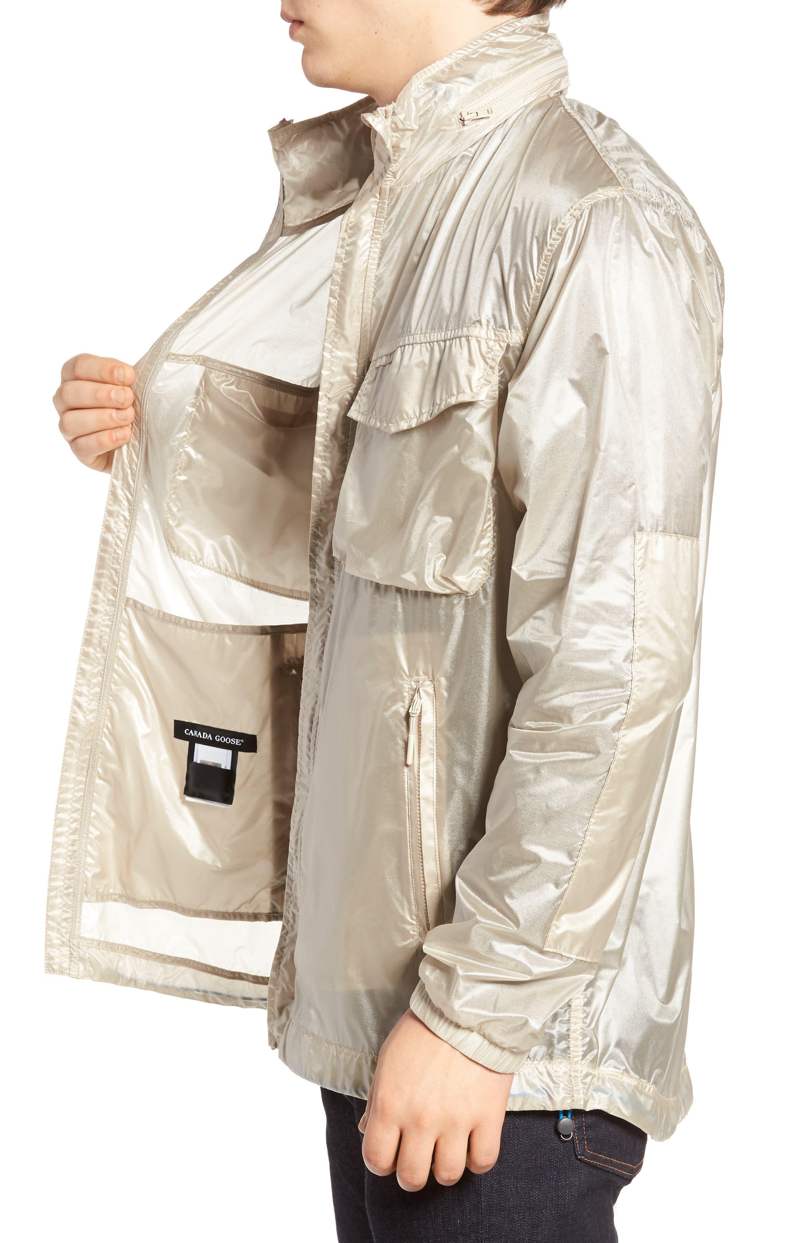 McKinnon Slim Fit Wind Jacket,                             Alternate thumbnail 3, color,                             SANDBANK