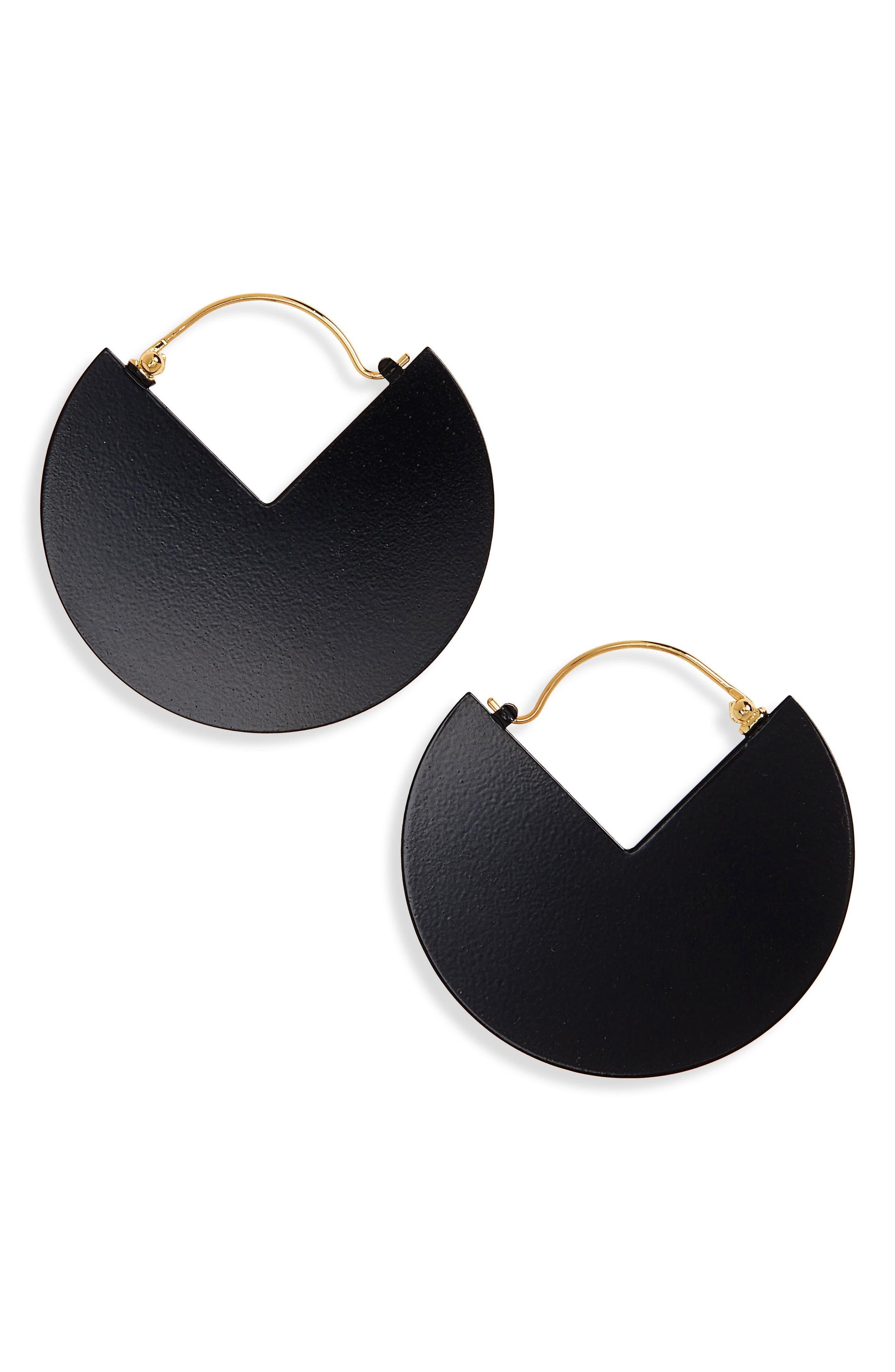 90-Degree Earrings,                         Main,                         color, 001