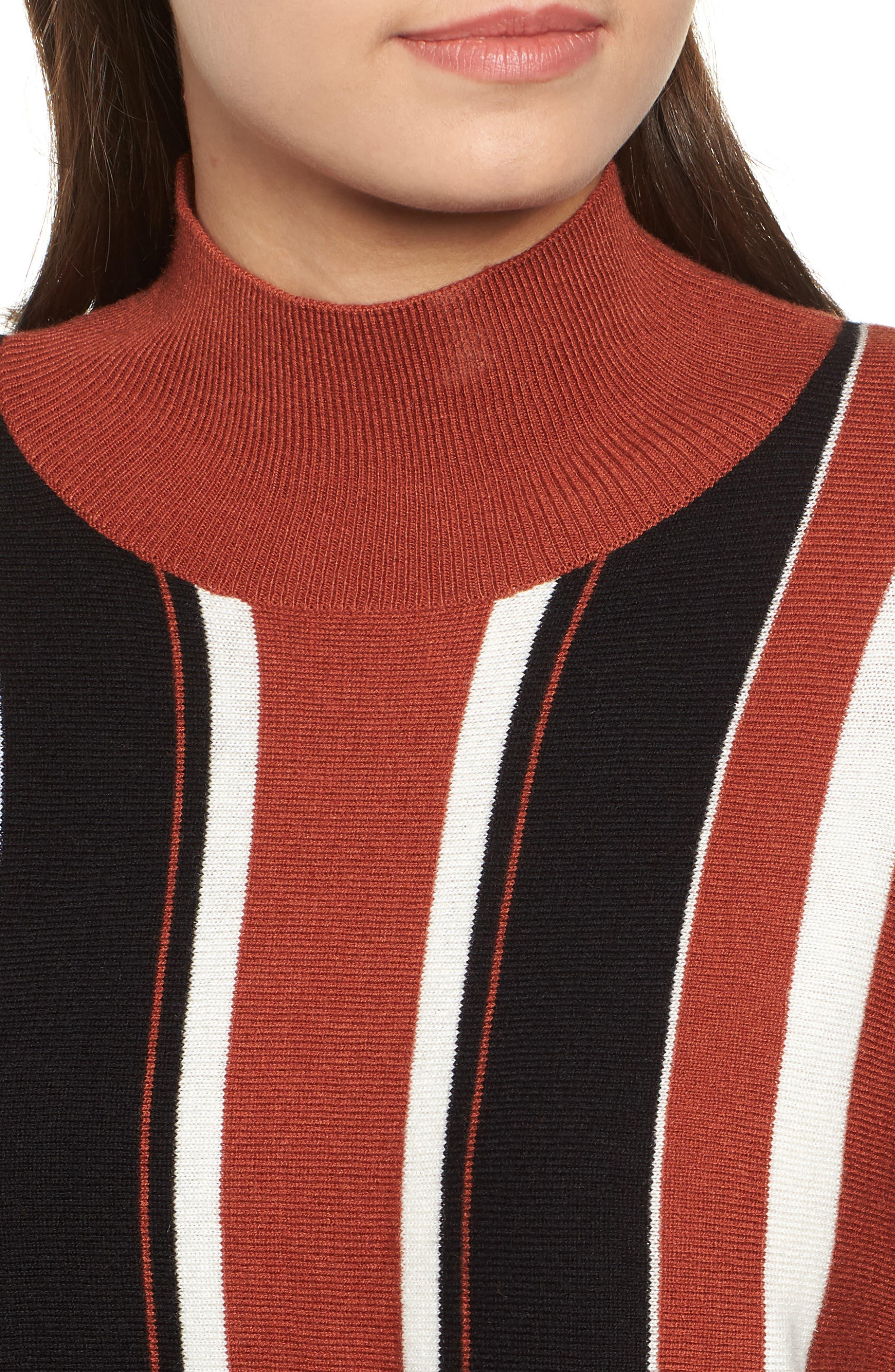 Stripe Dolman Sleeve Sweater,                             Alternate thumbnail 5, color,                             210