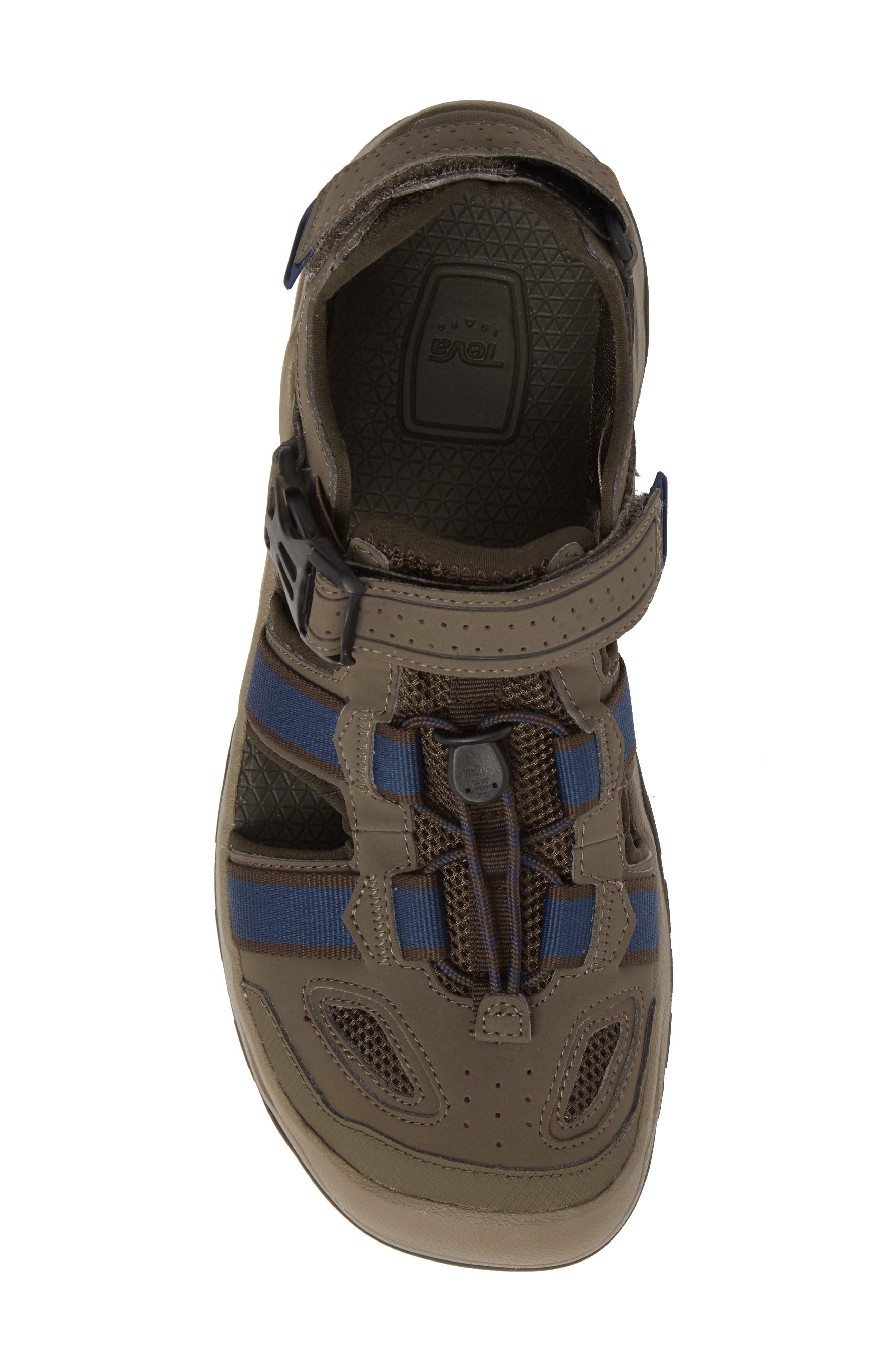 Omnium 2 Hiking Sandal,                             Alternate thumbnail 5, color,                             BROWN NYLON