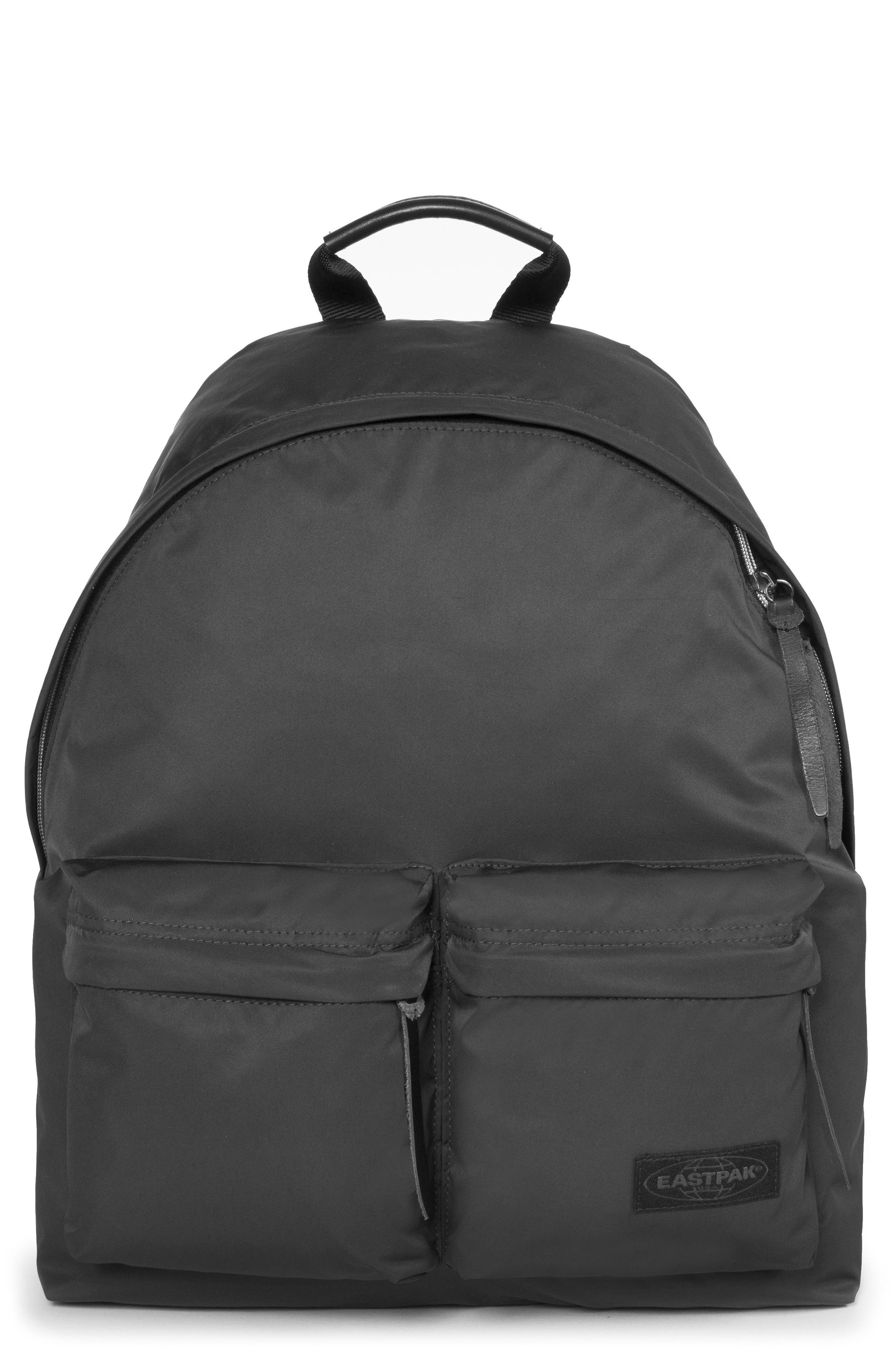 EASTPAK,                             Padded Doubl'r<sup>®</sup> Nylon Backpack,                             Main thumbnail 1, color,                             001