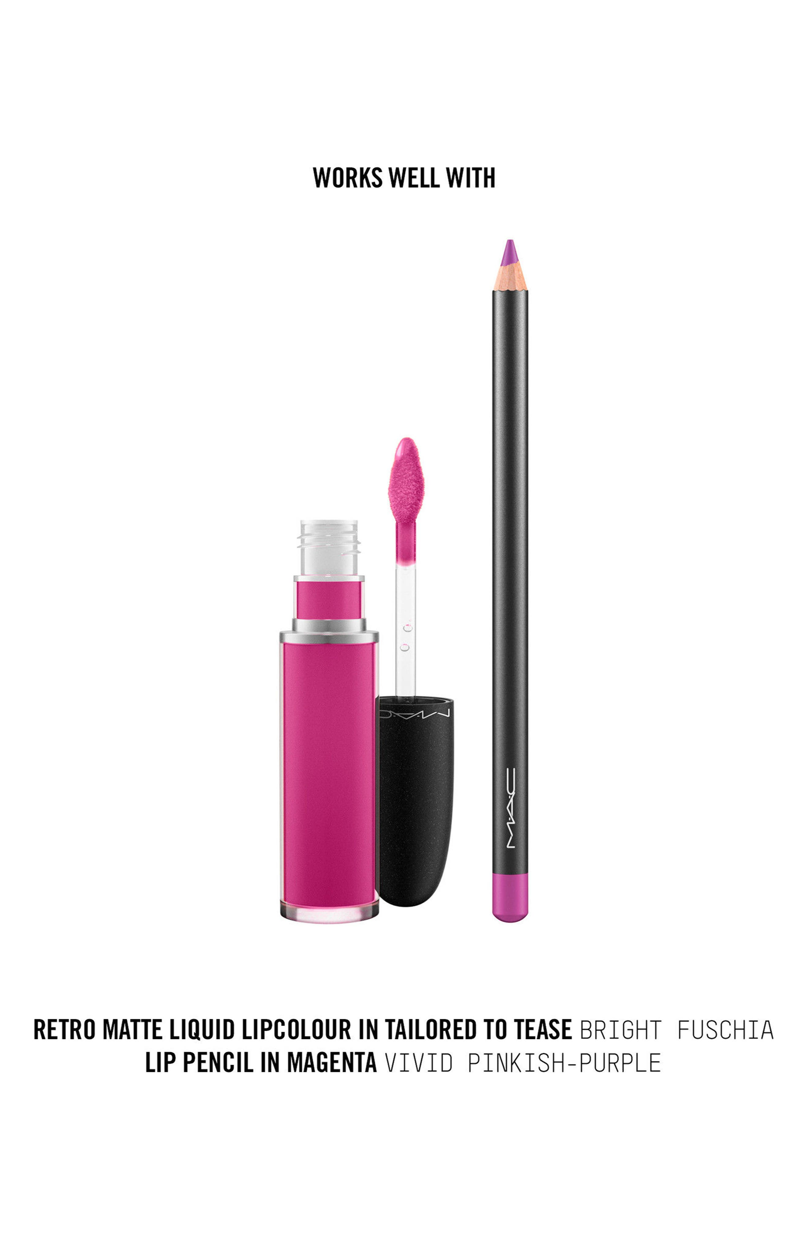 MAC Retro Matte Liquid Lipcolor,                             Alternate thumbnail 150, color,